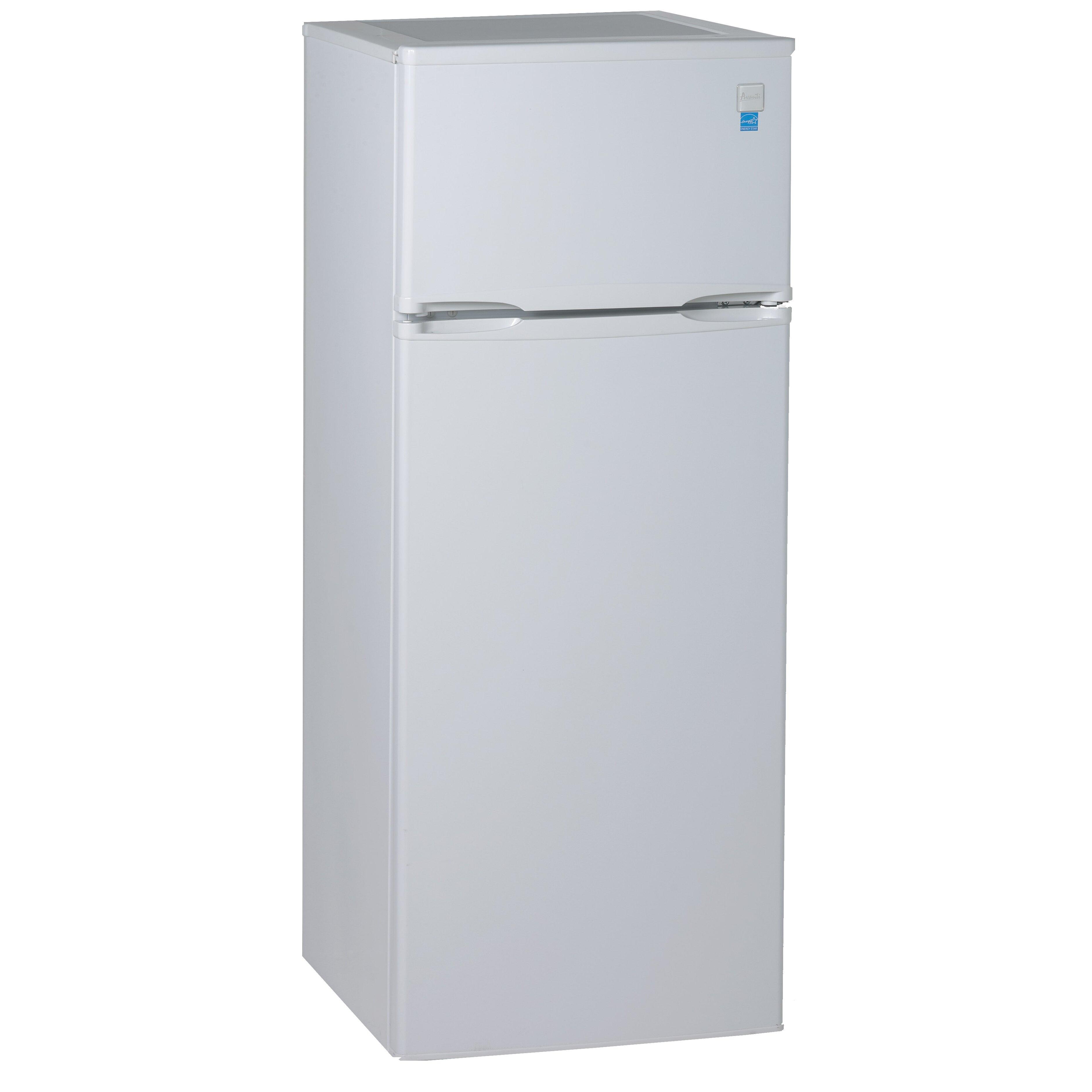 avanti 7 4 cu ft compact refrigerator reviews wayfair. Black Bedroom Furniture Sets. Home Design Ideas