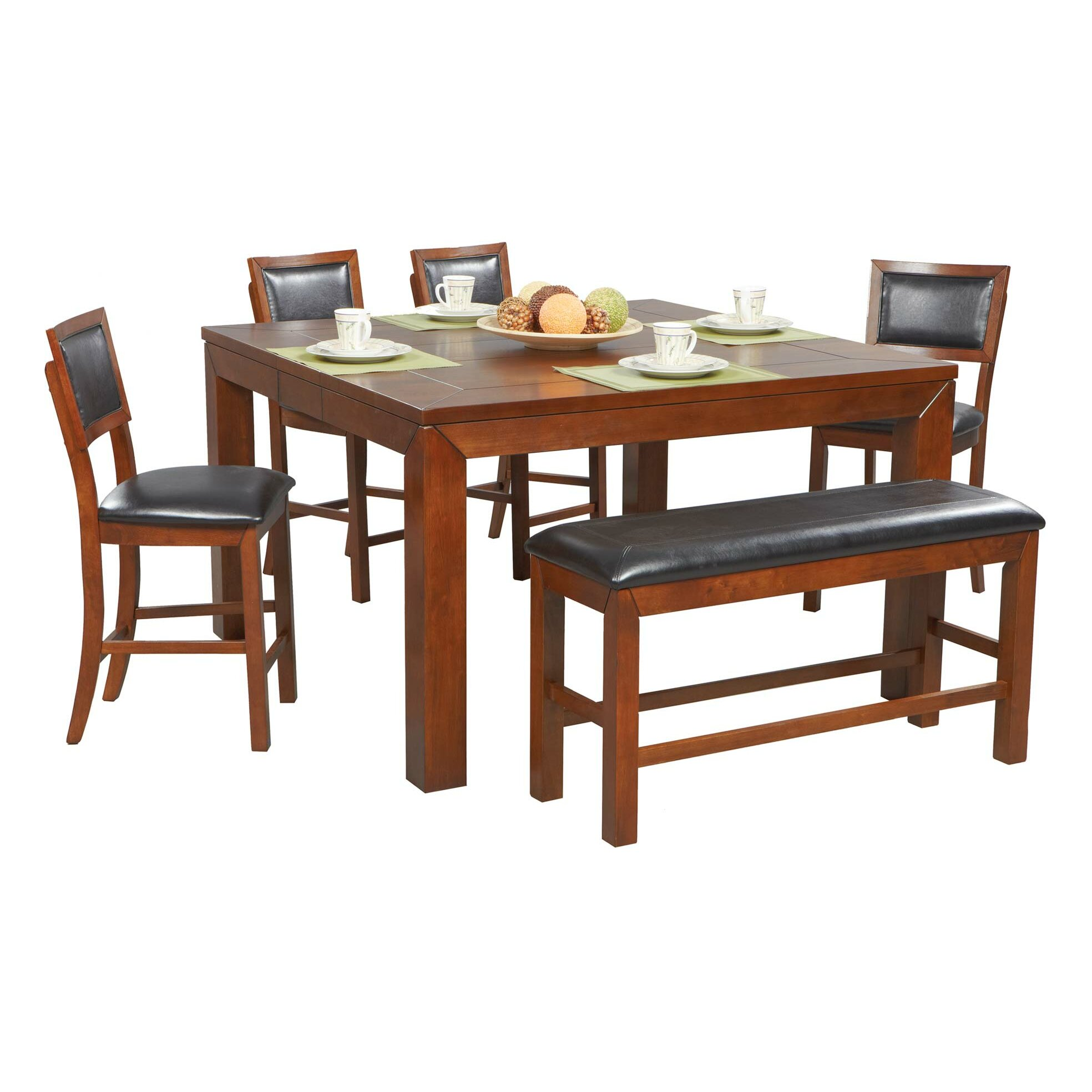 Winners Only Inc Franklin 6 Piece Dining Set Reviews Wayfair
