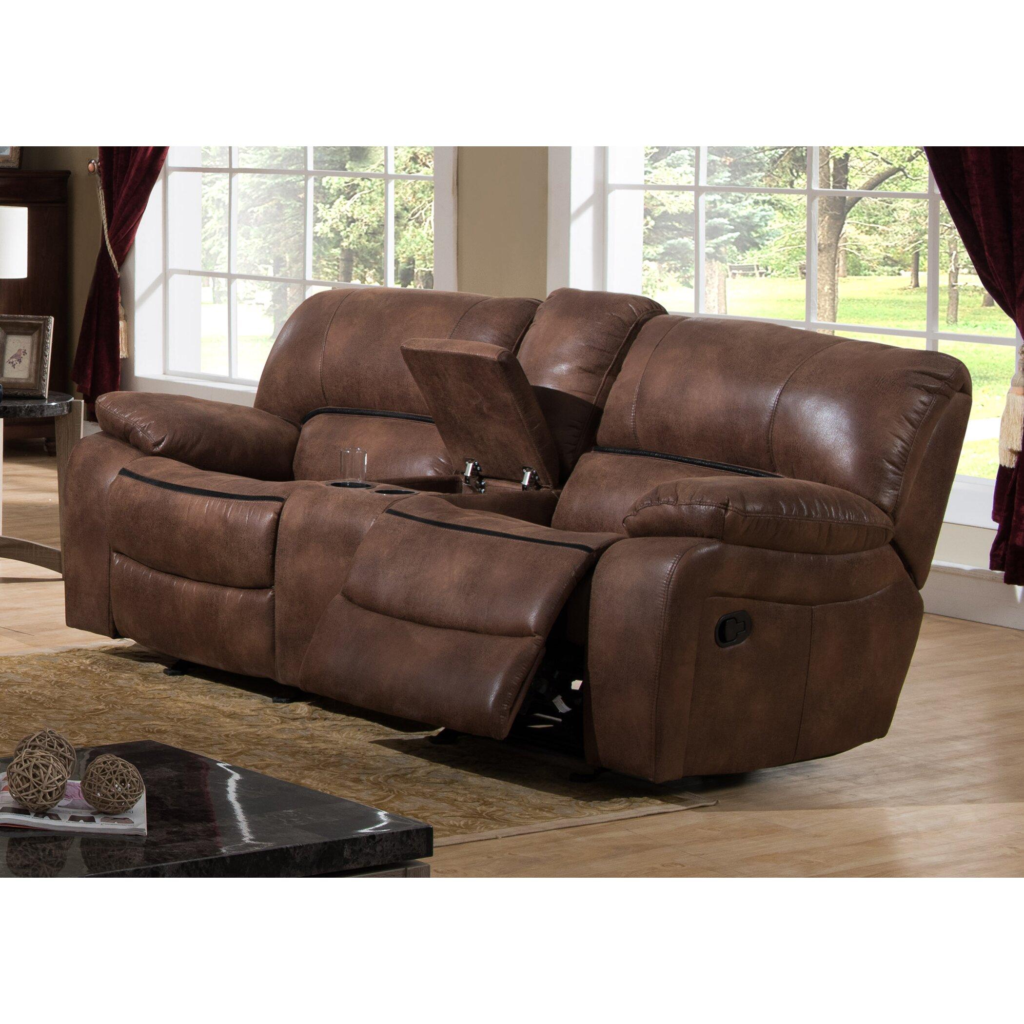 ac pacific leighton 2 piece reclining living room set