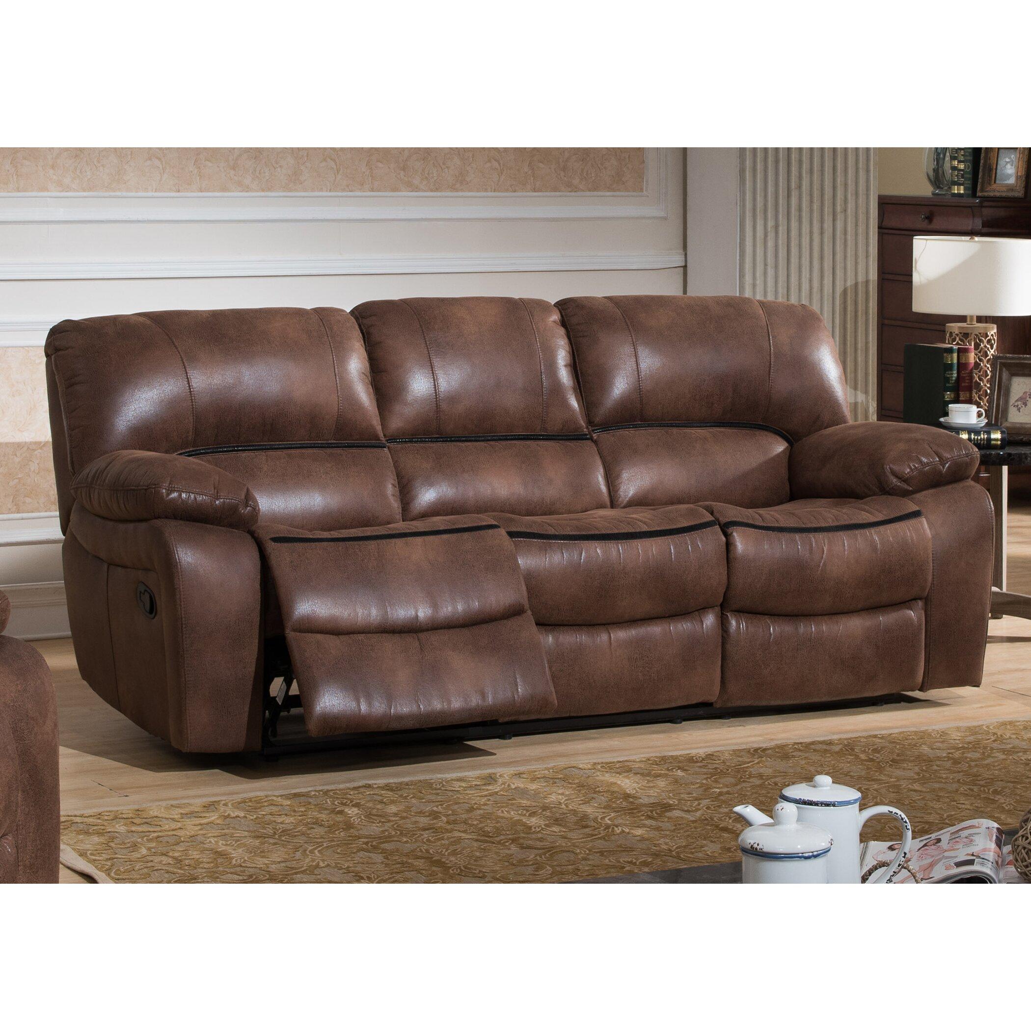 Ac Pacific Leighton Reclining Sofa