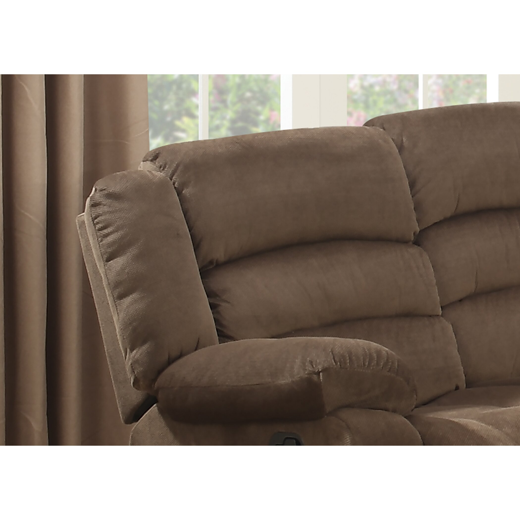 Ac Pacific Bill Reclining Living Room Sofa And Loveseat