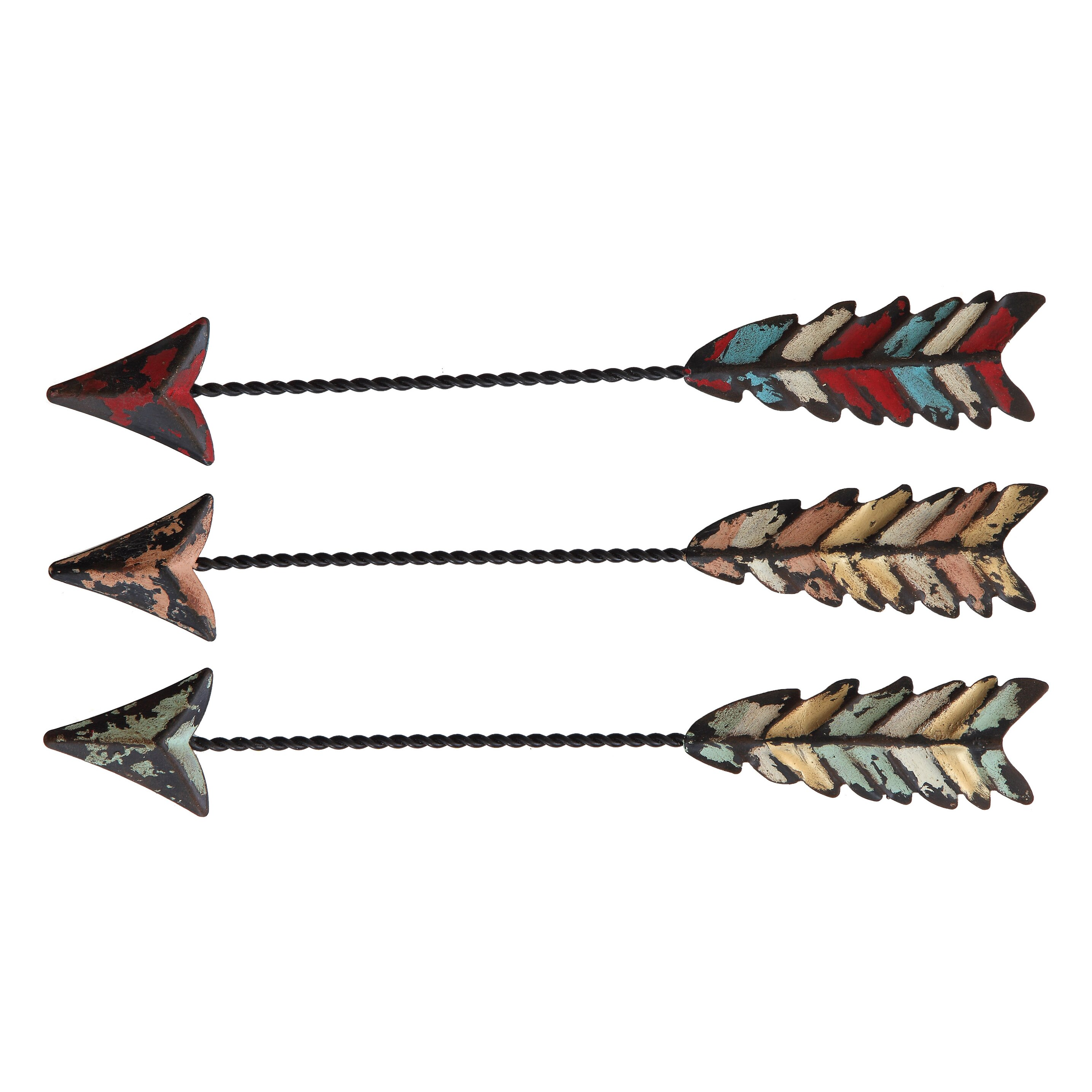 Creative Co Op 3 Piece Arrow Wall Decor Set Amp Reviews