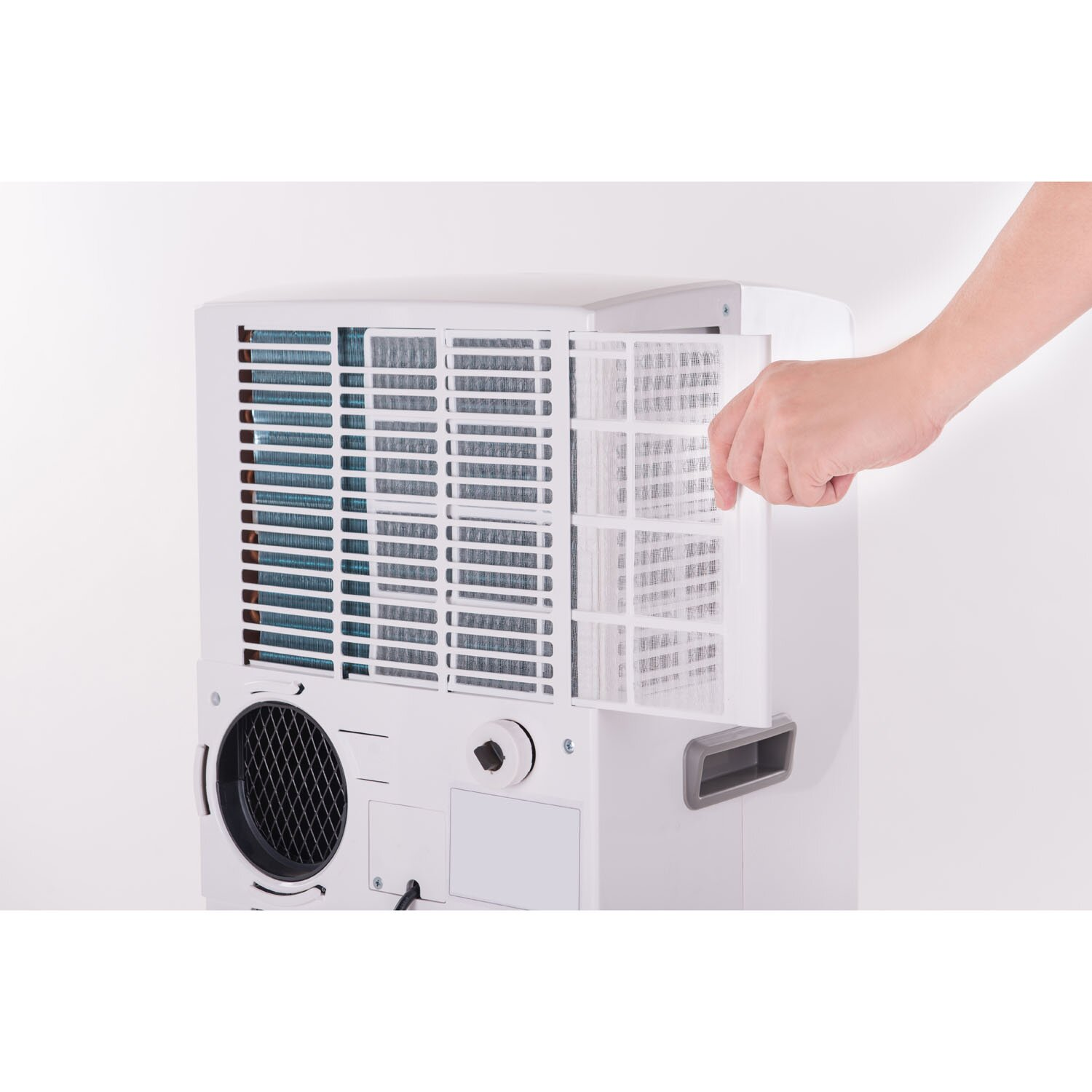 Portable Travel Straw Haier 8000 Btu Portable Air Conditioner Parts Portable Drinking Straw Quiet Portable Evaporative Air Cooler: Honeywell 8,000 BTU Portable Air Conditioner With Front