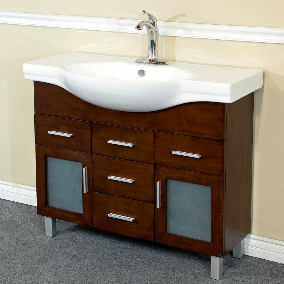bathroom vanity sets bellaterra home 40 quot single bathroom vanity set amp reviews 716