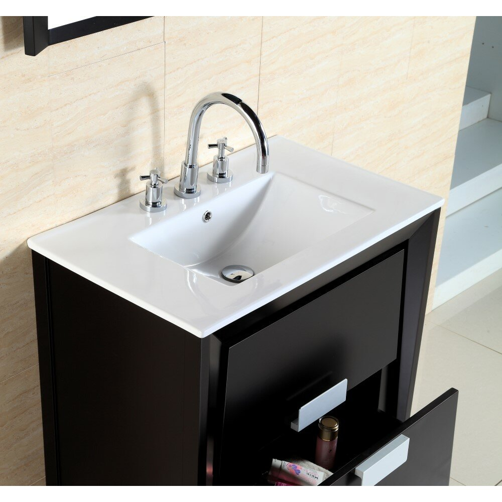 Bellaterra Home 30 Single Sink Vanity Set Wayfair