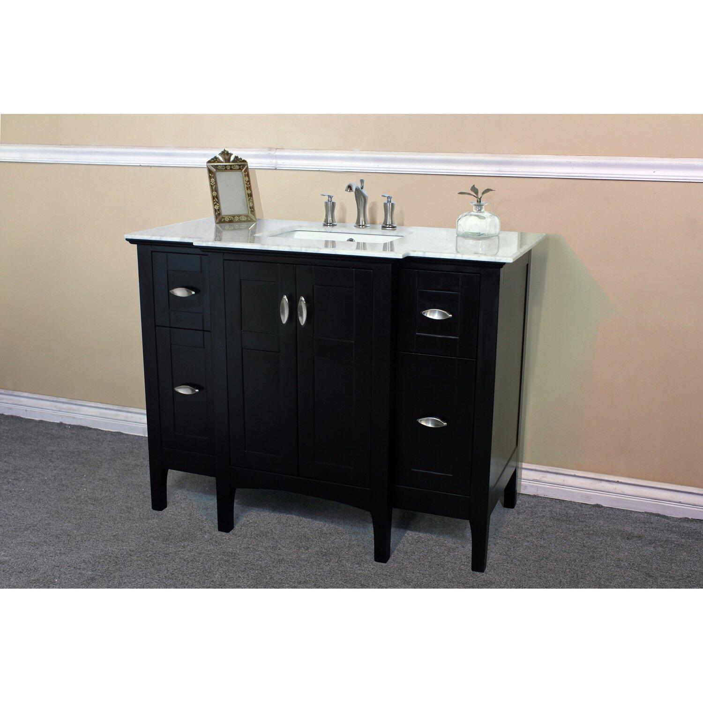 Bellaterra home 44 single bathroom vanity base reviews for Bathroom cabinets reviews