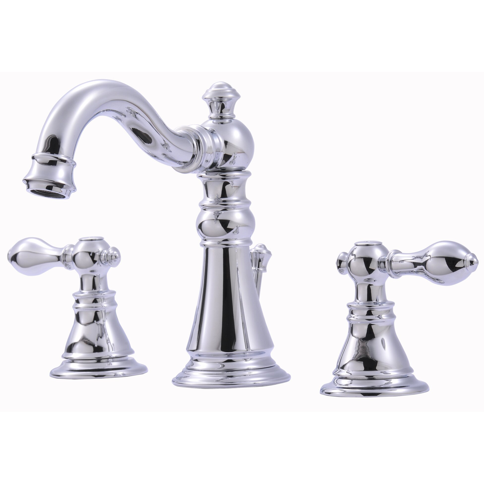 Ultra Faucets Widespread Bathroom Faucet With Double Handles Reviews