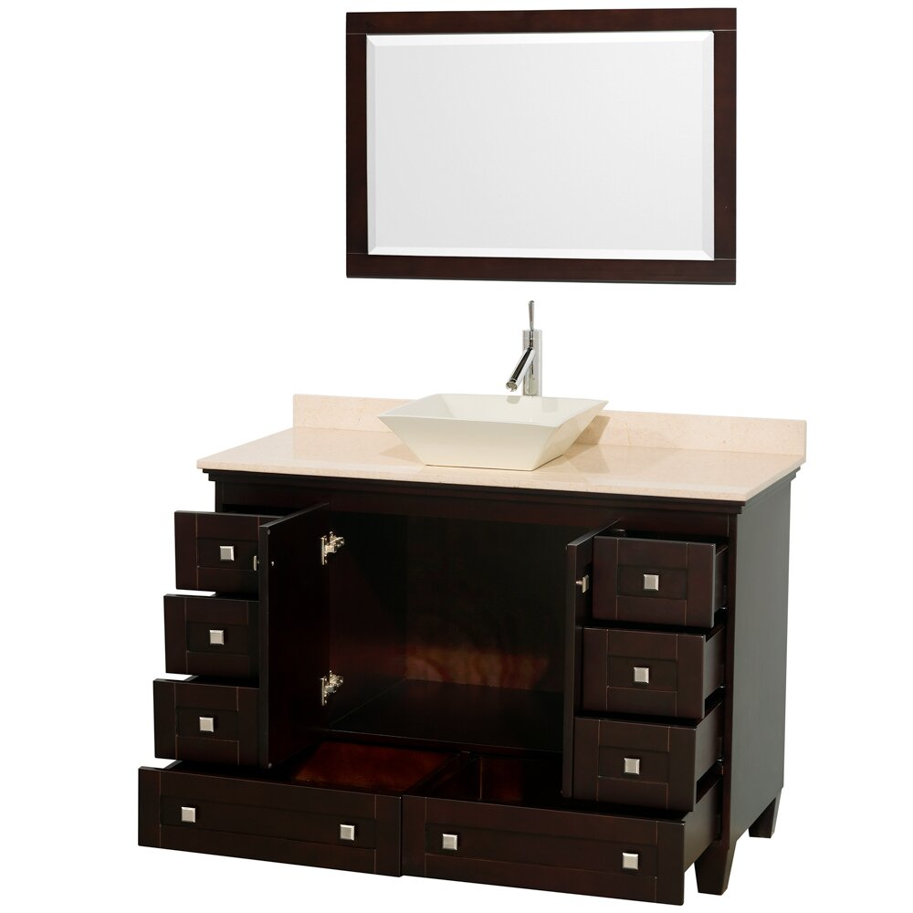 "Wyndham Collection Acclaim 48"" Single Bathroom Vanity Base"