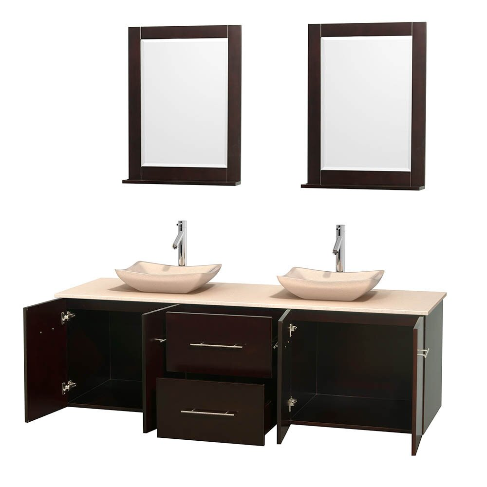 wyndham collection centra 72 quot bathroom vanity base