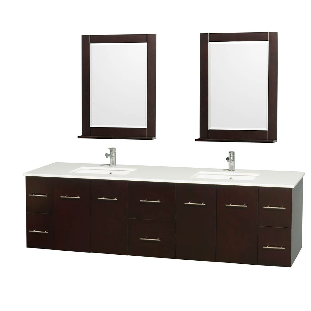 wyndham collection centra 80 quot bathroom vanity base
