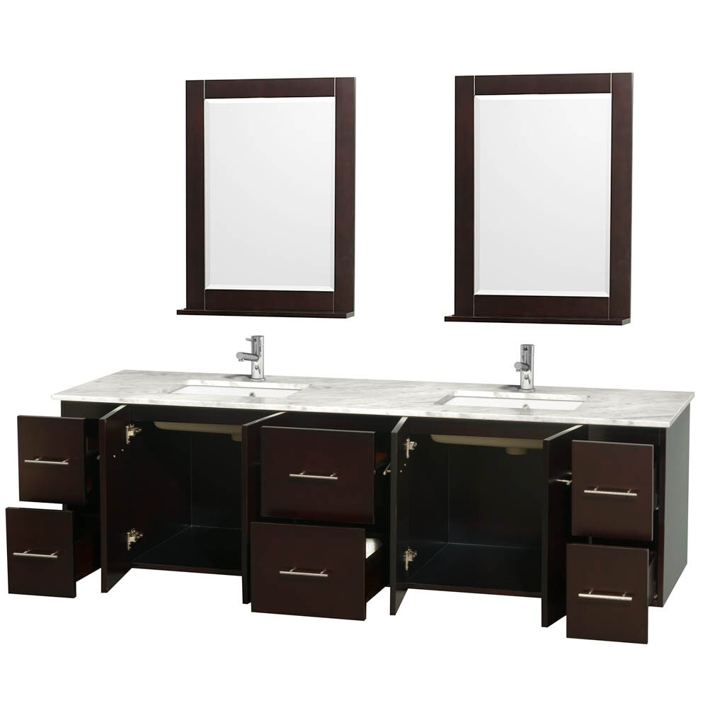 wyndham collection centra 80 quot bathroom vanity base