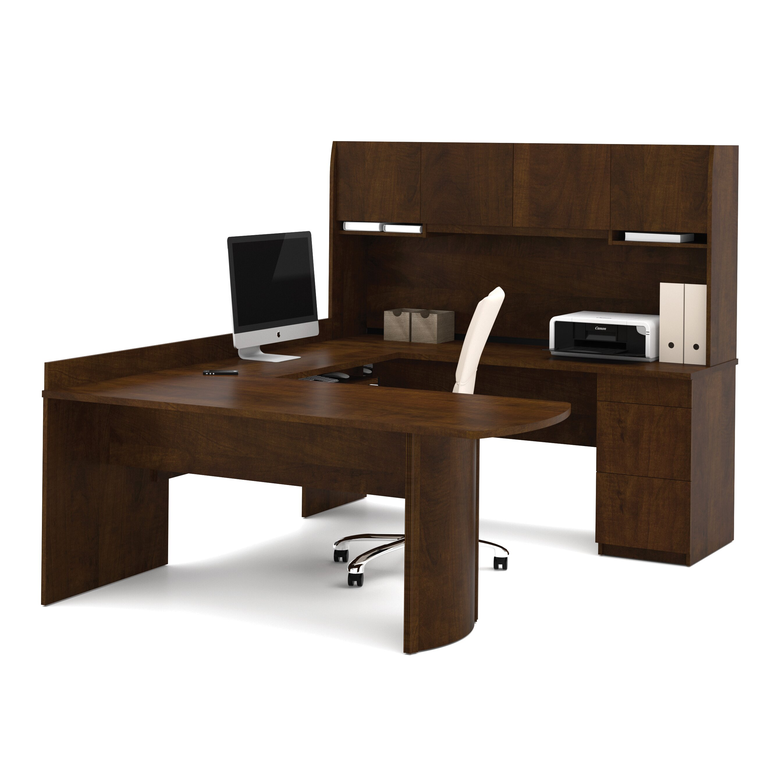 Furniture Office Furniture  Executive Desks Bestar SKU: BE1340