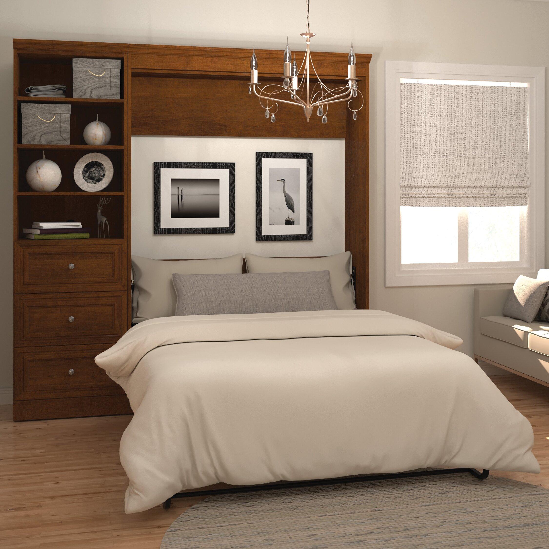 Bestar Versatile Full Double Murphy Bed Amp Reviews