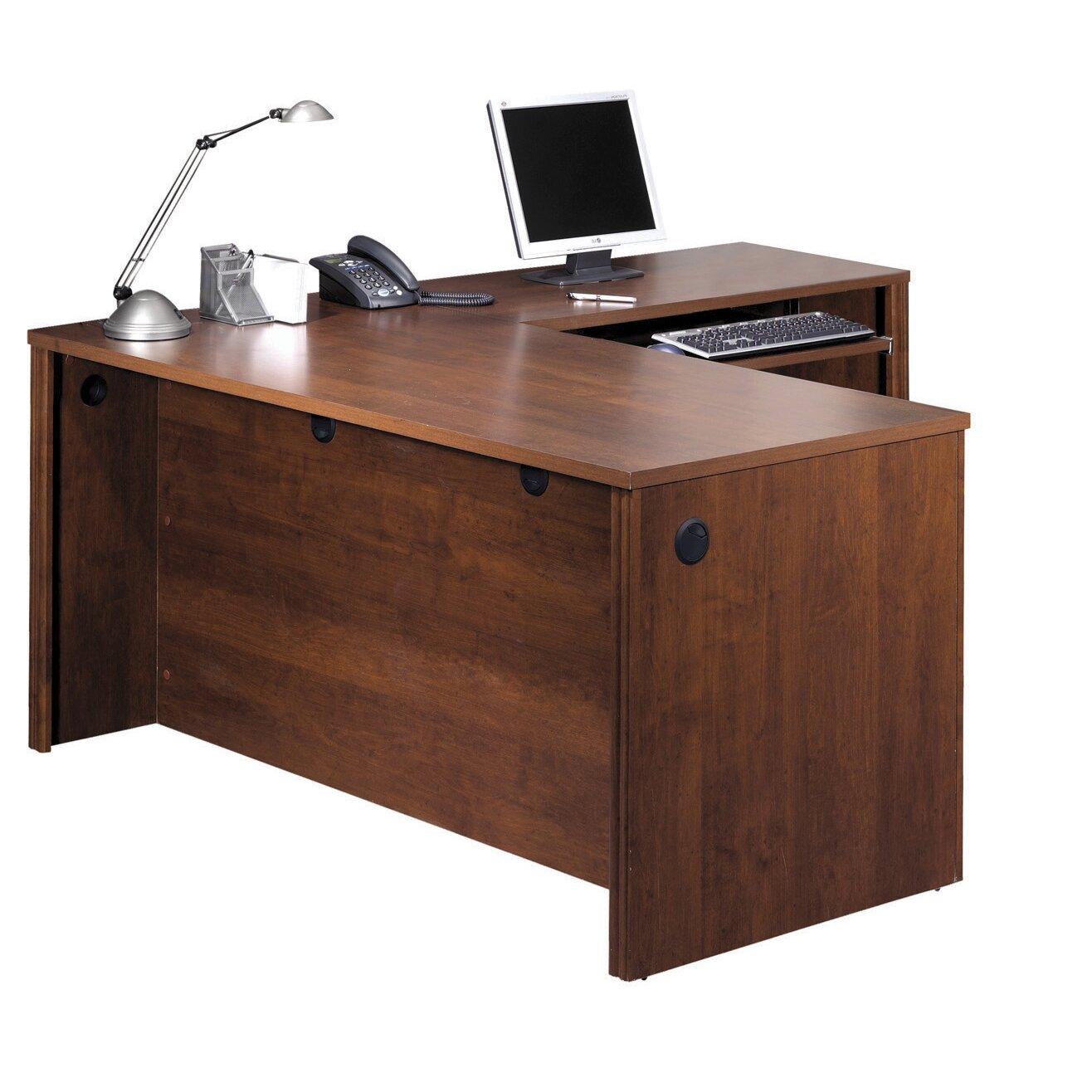 L Shaped Outdoor Kitchen: Bestar Embassy L-Shaped Executive Desk