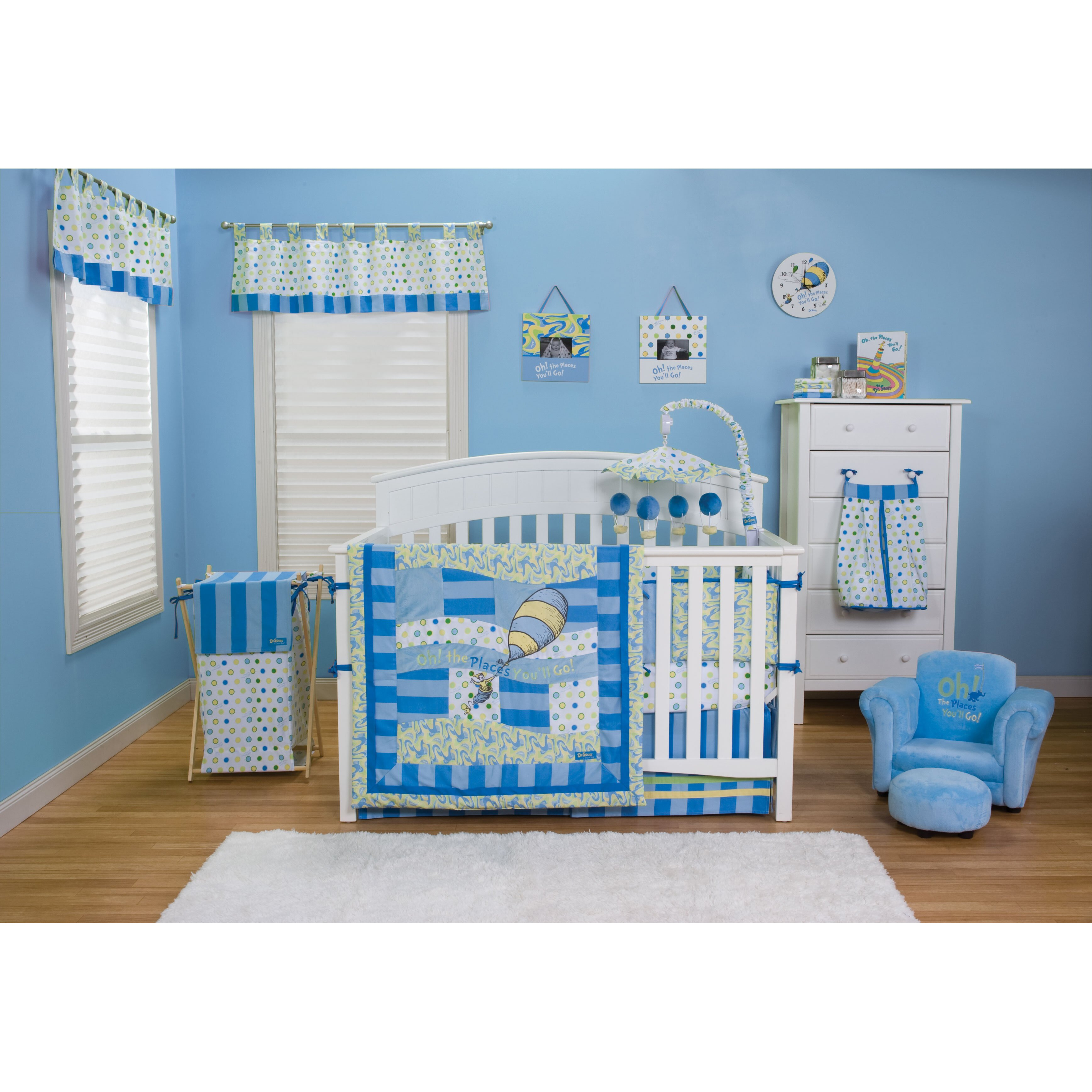 Trend Lab Dr Seuss Oh The Places You Ll Go 4 Piece Crib