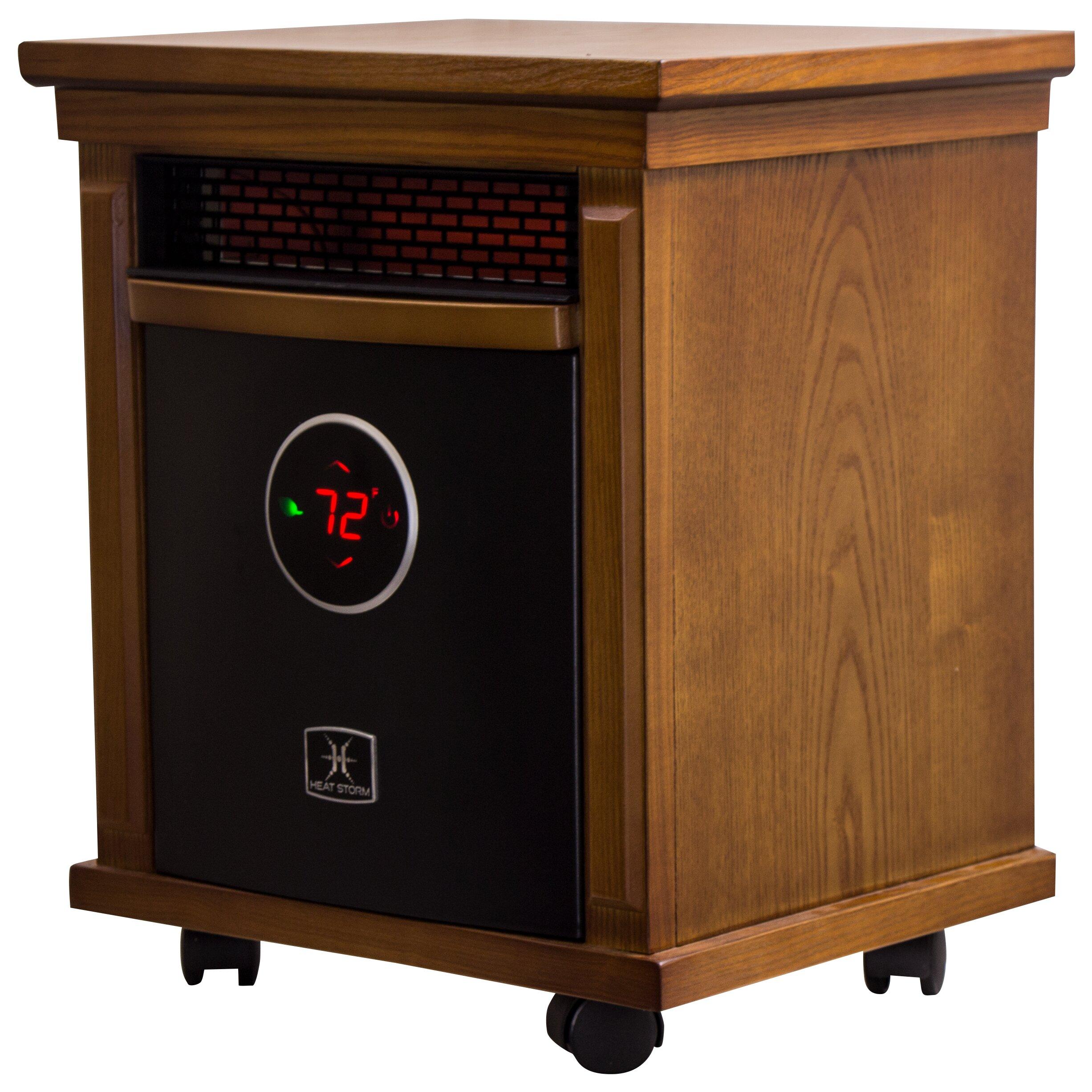 Storm Smithfield 1,500 Watt Portable Electric Infrared Cabinet Heater