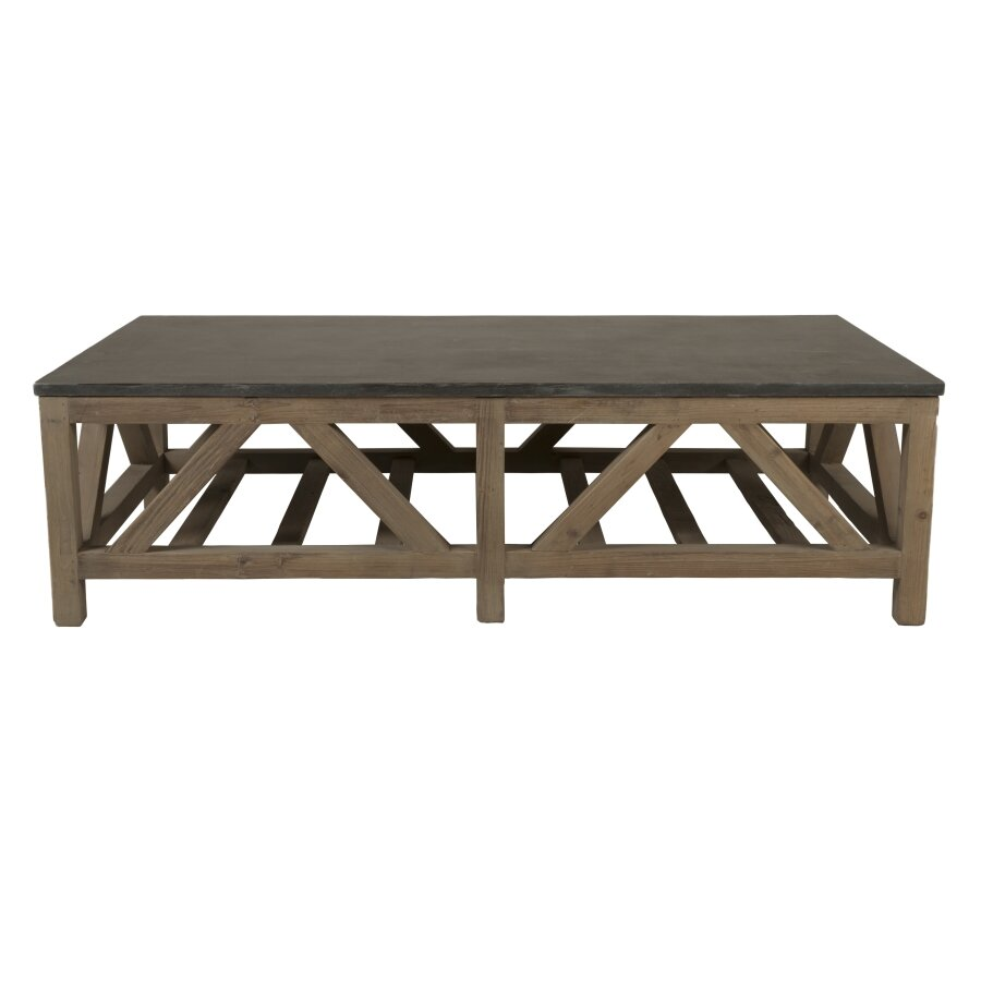 Orient Express Furniture Bella Antique Coffee Table