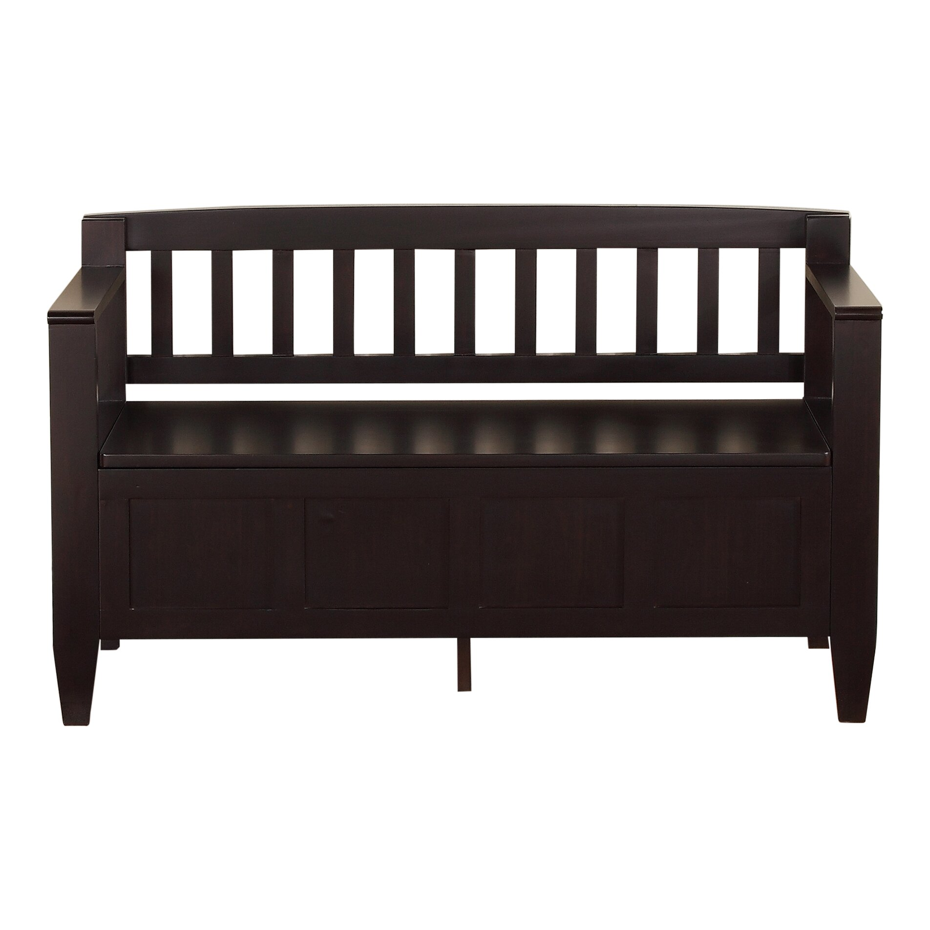 Simpli Home Brooklyn Entryway Storage Bench Amp Reviews