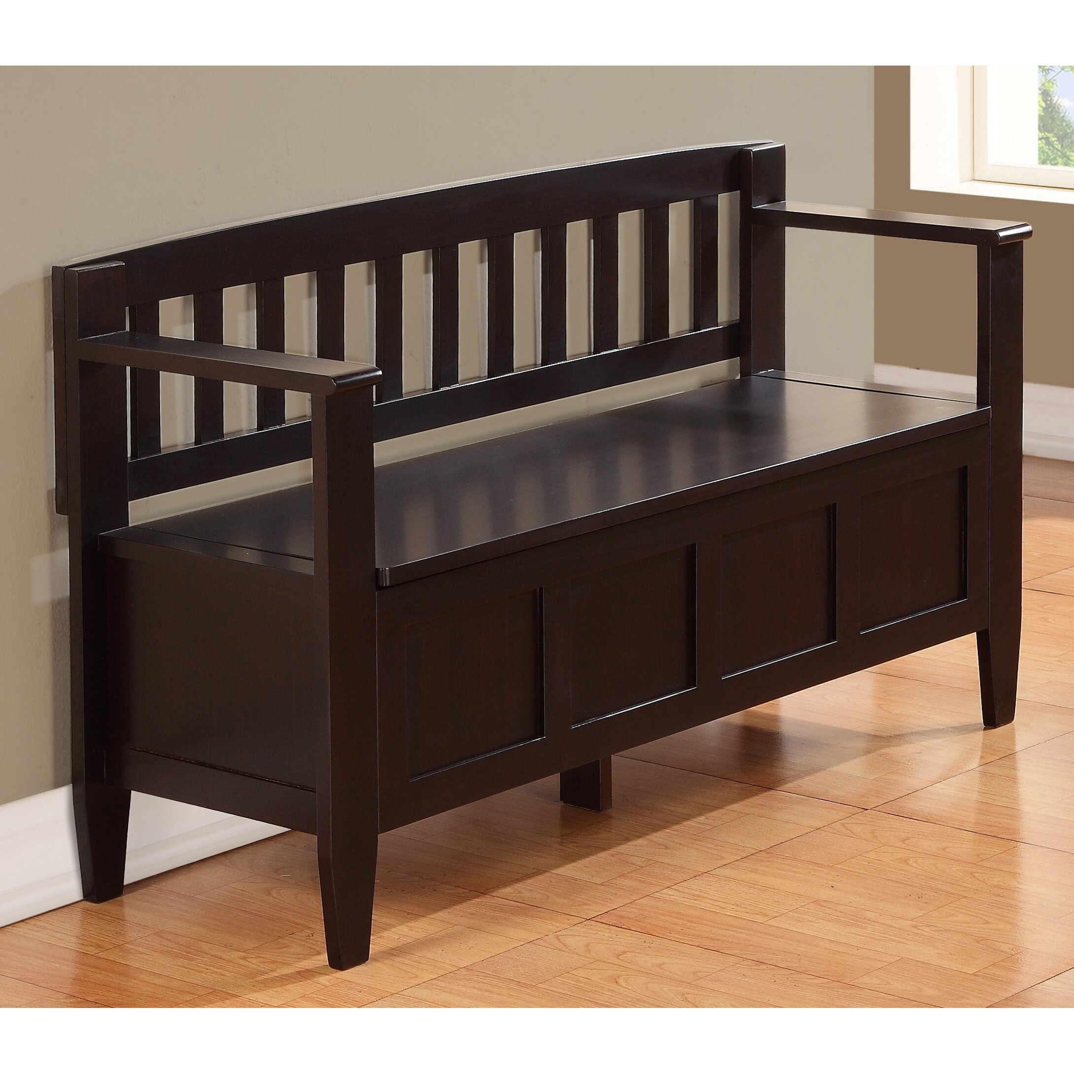 Simpli Home Brooklyn Entryway Storage Bench Reviews