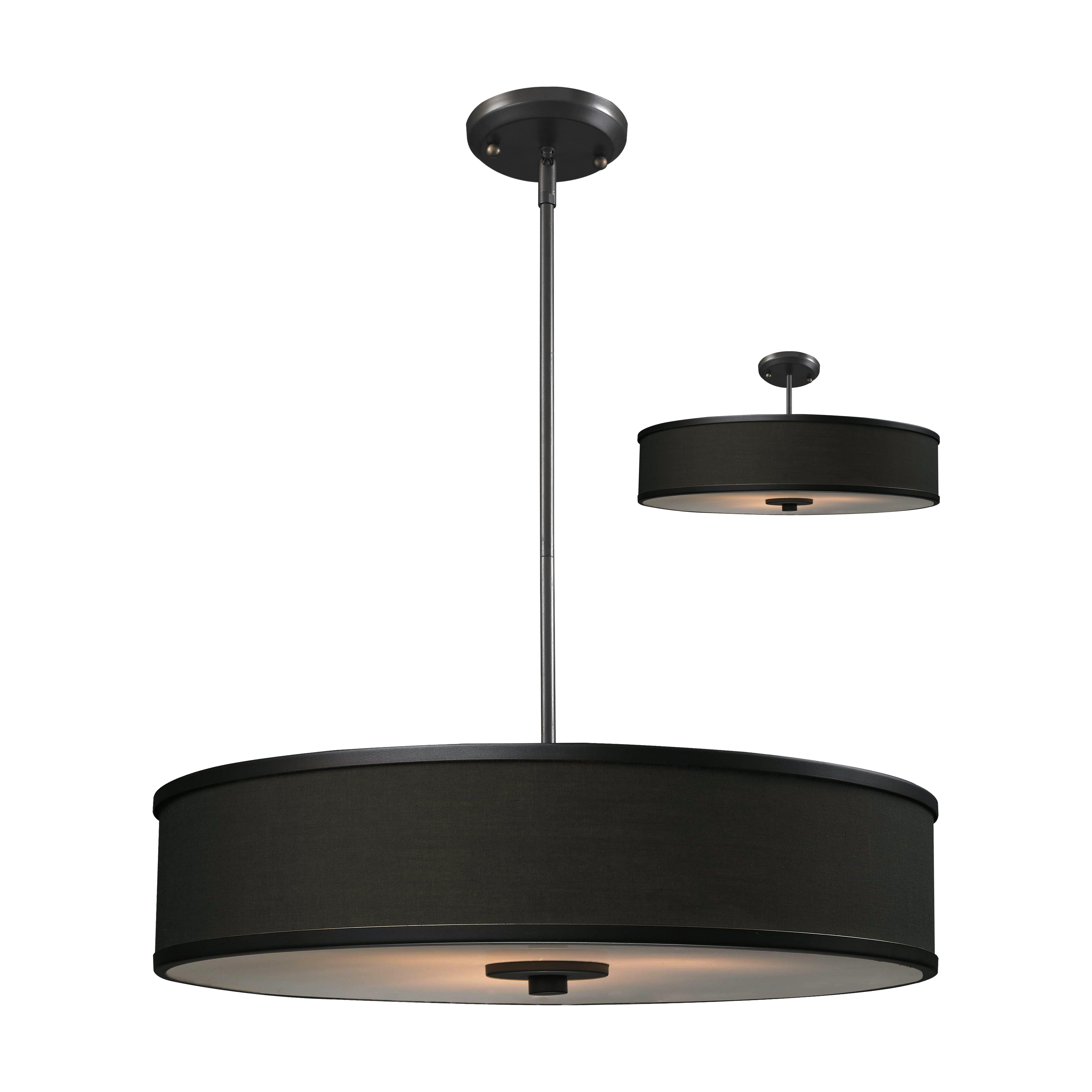 Foyer Drum Lighting : Z lite cameo convertible light drum foyer pendant