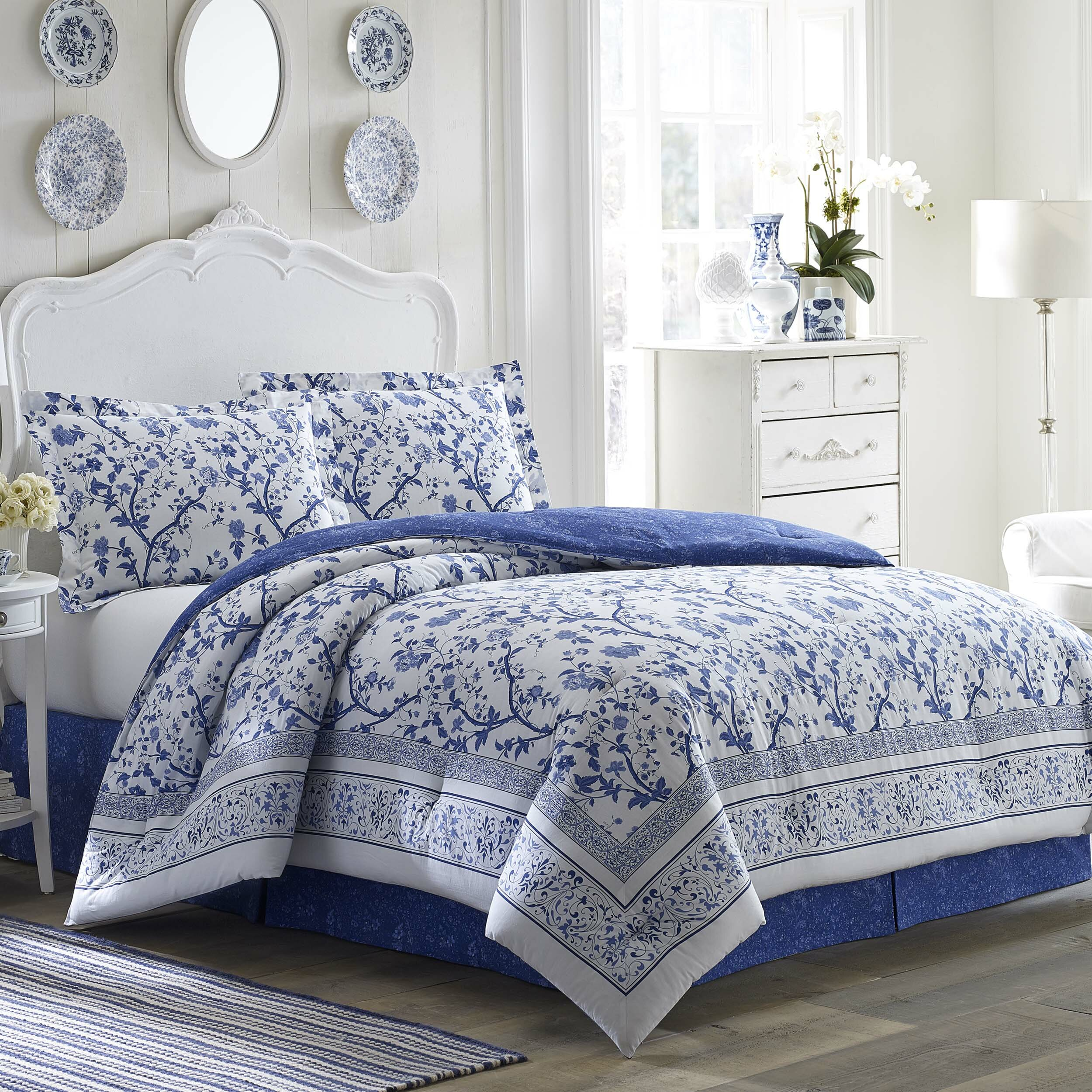 Laura ashley bedding charlotte comforter collection - Bedroom sheets and comforter sets ...