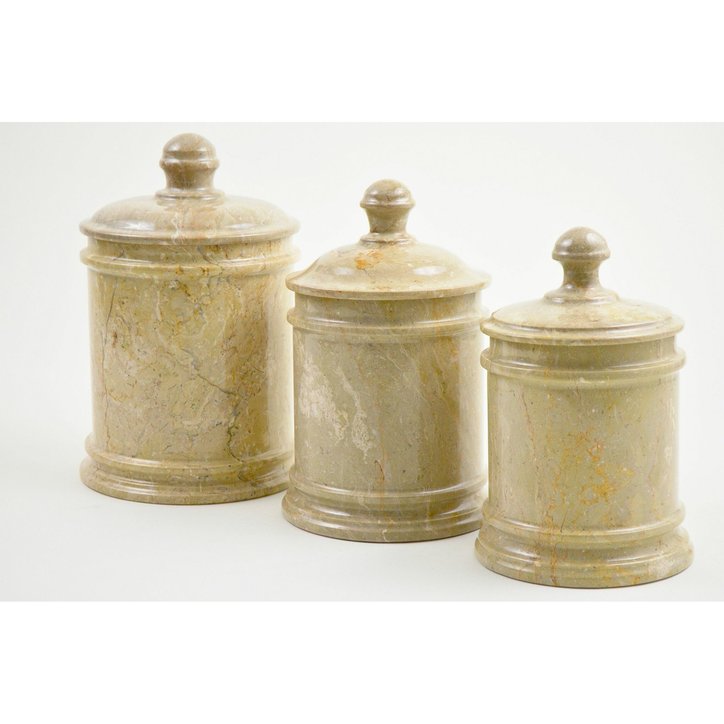 kitchen canisters nature home decor sahara marble kitchen canister reviews