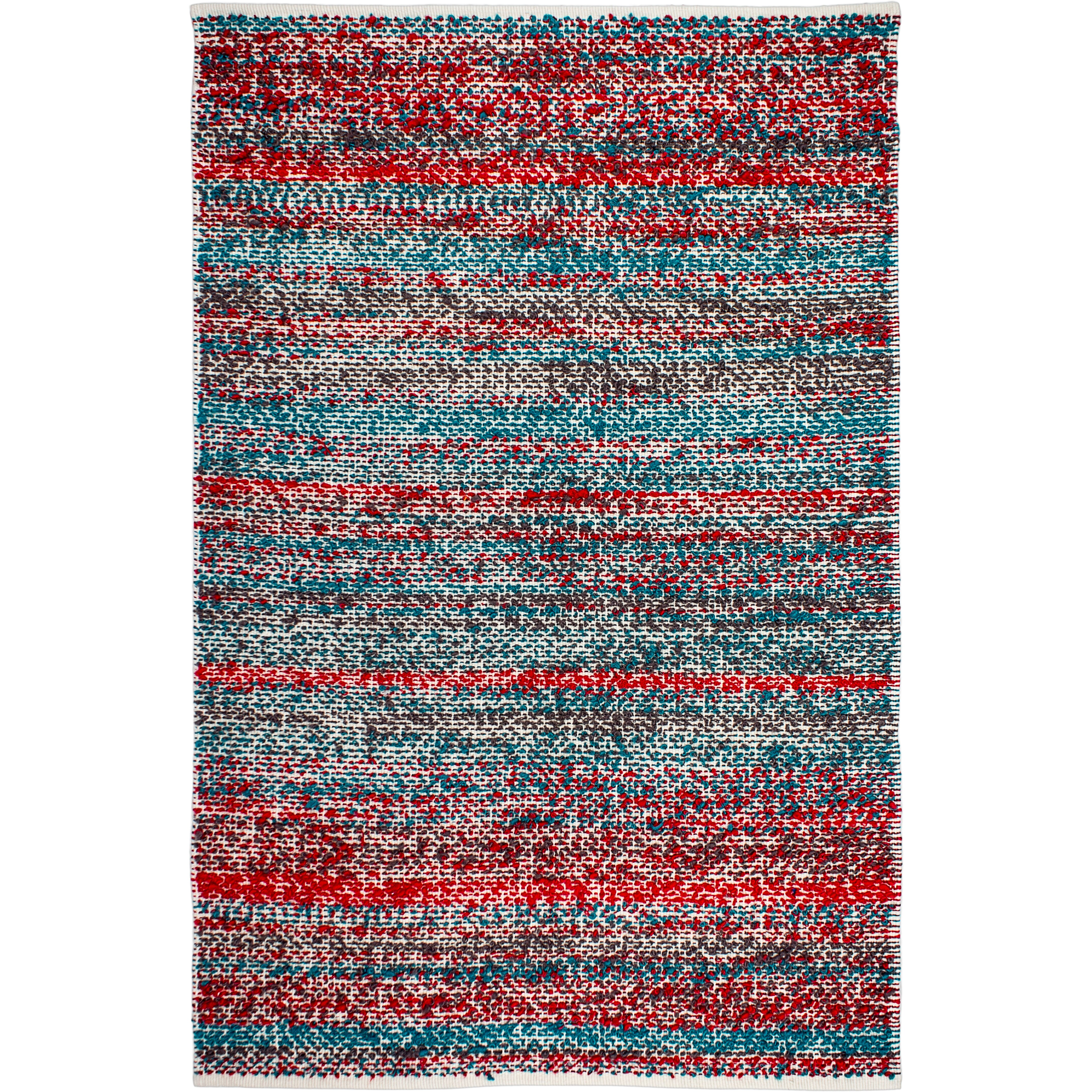 Fab Rugs Estate Hand Woven Multi Colored Indoor Outdoor