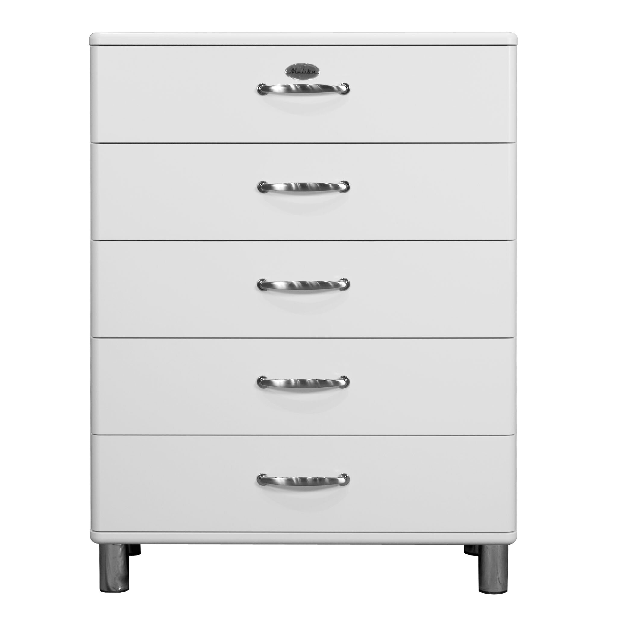 tenzo malibu 5 drawer chest of drawers wayfair uk. Black Bedroom Furniture Sets. Home Design Ideas