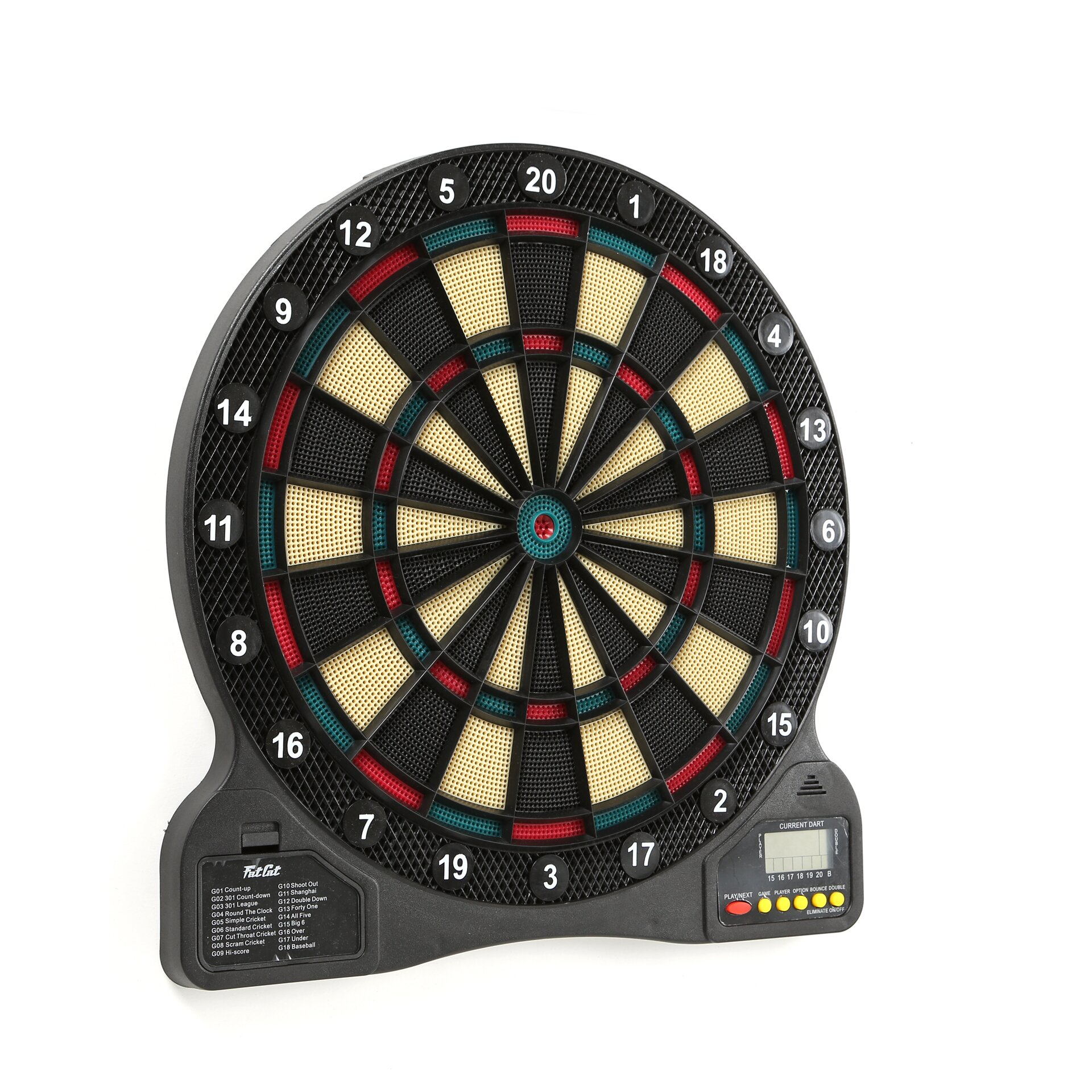 GLD Products Fat Cat 727 Electronic Dart Board & Reviews  Wayfair