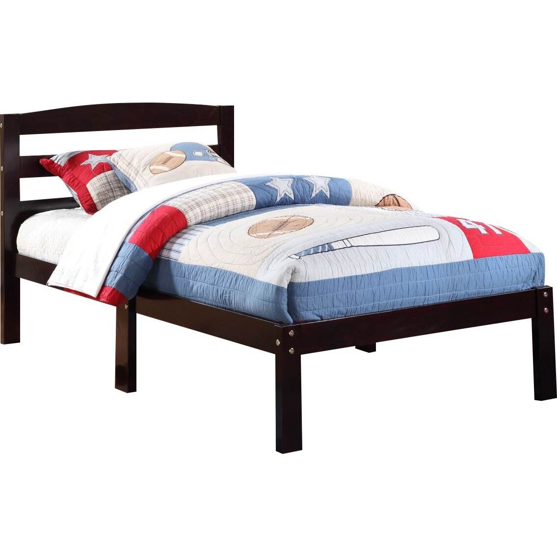 williams import co crosby twin slat bed reviews. Black Bedroom Furniture Sets. Home Design Ideas