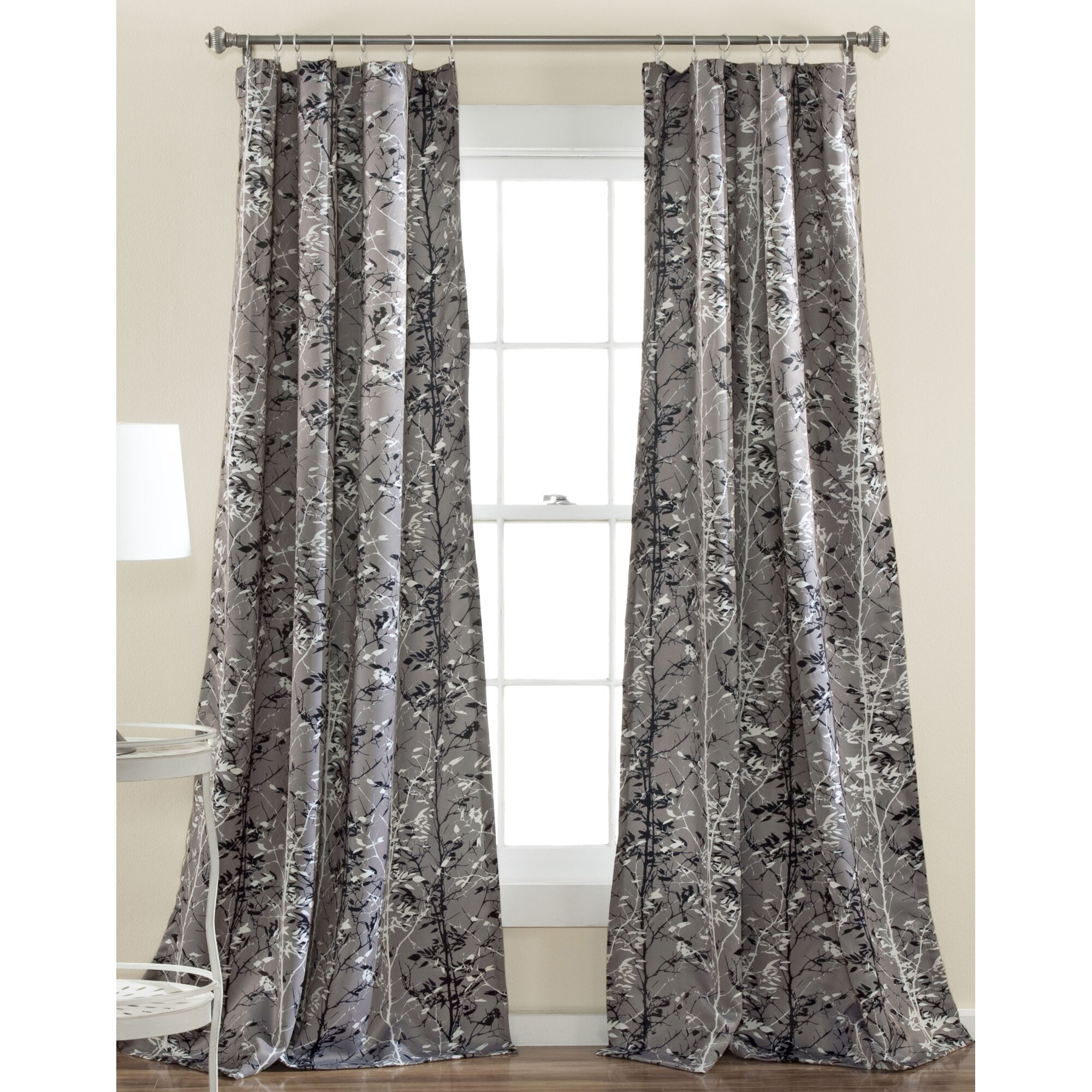 Lush Decor Forest Room Darkening Thermal Curtain Panels