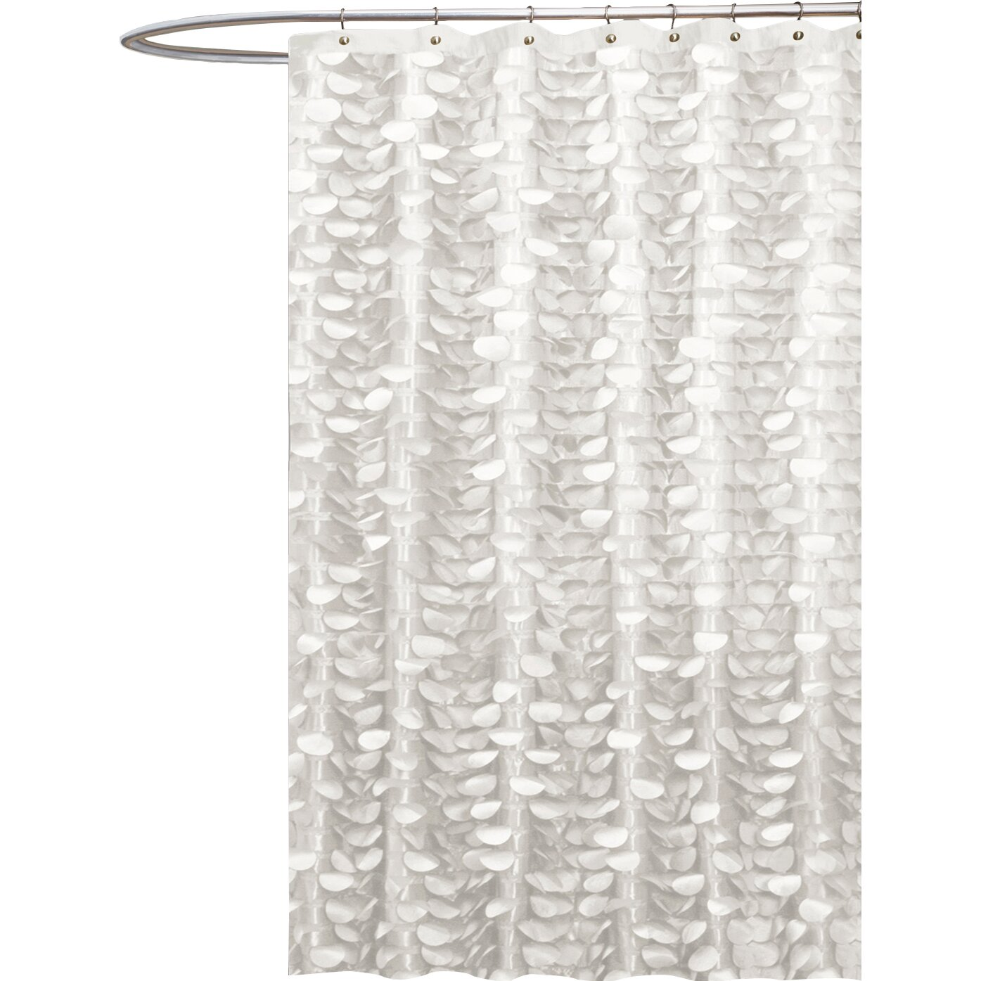 Lush Decor Georgia Shower Curtain Wayfair