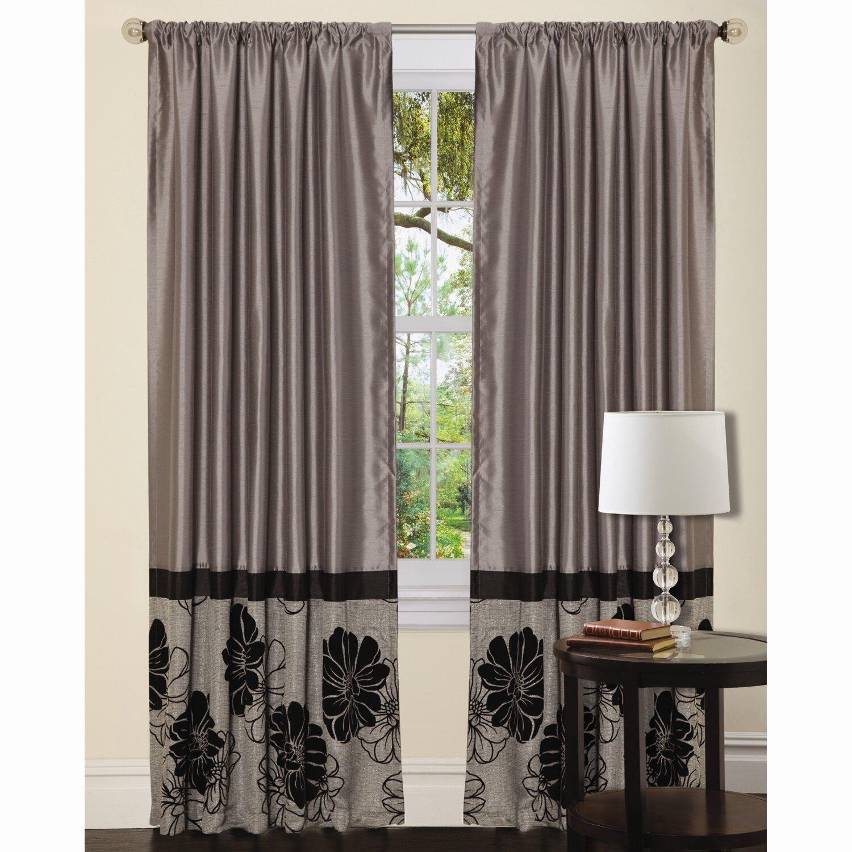 Lush Decor Pasadena Rod Pocket Curtain Panel Reviews