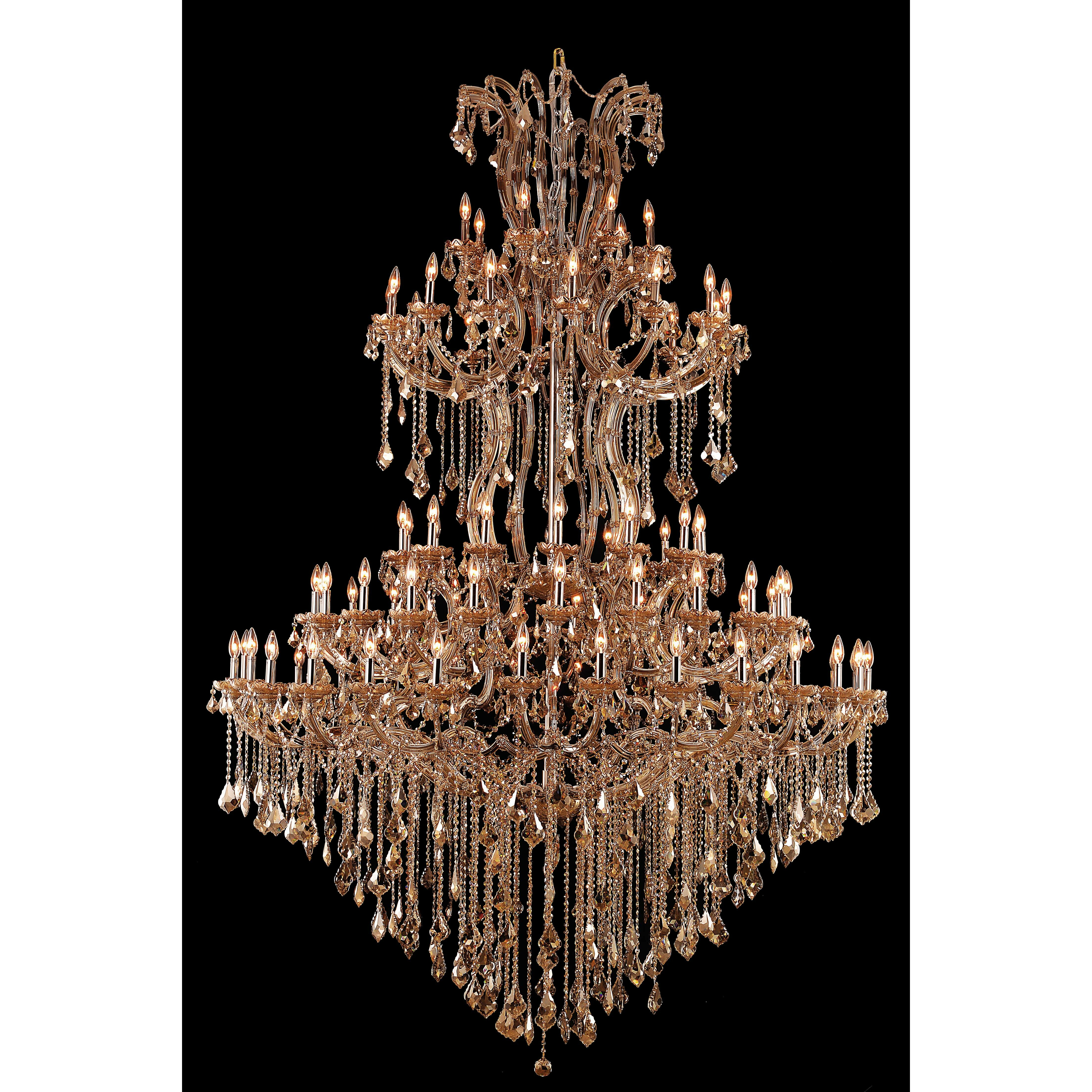 Elegant Lighting Maria Theresa 84 Light Crystal Chandelier