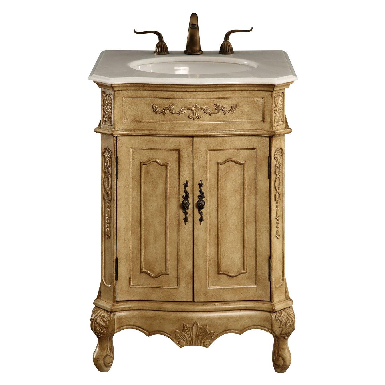 Elegant Bathroom Vanity Lights : Elegant Lighting Danville 24