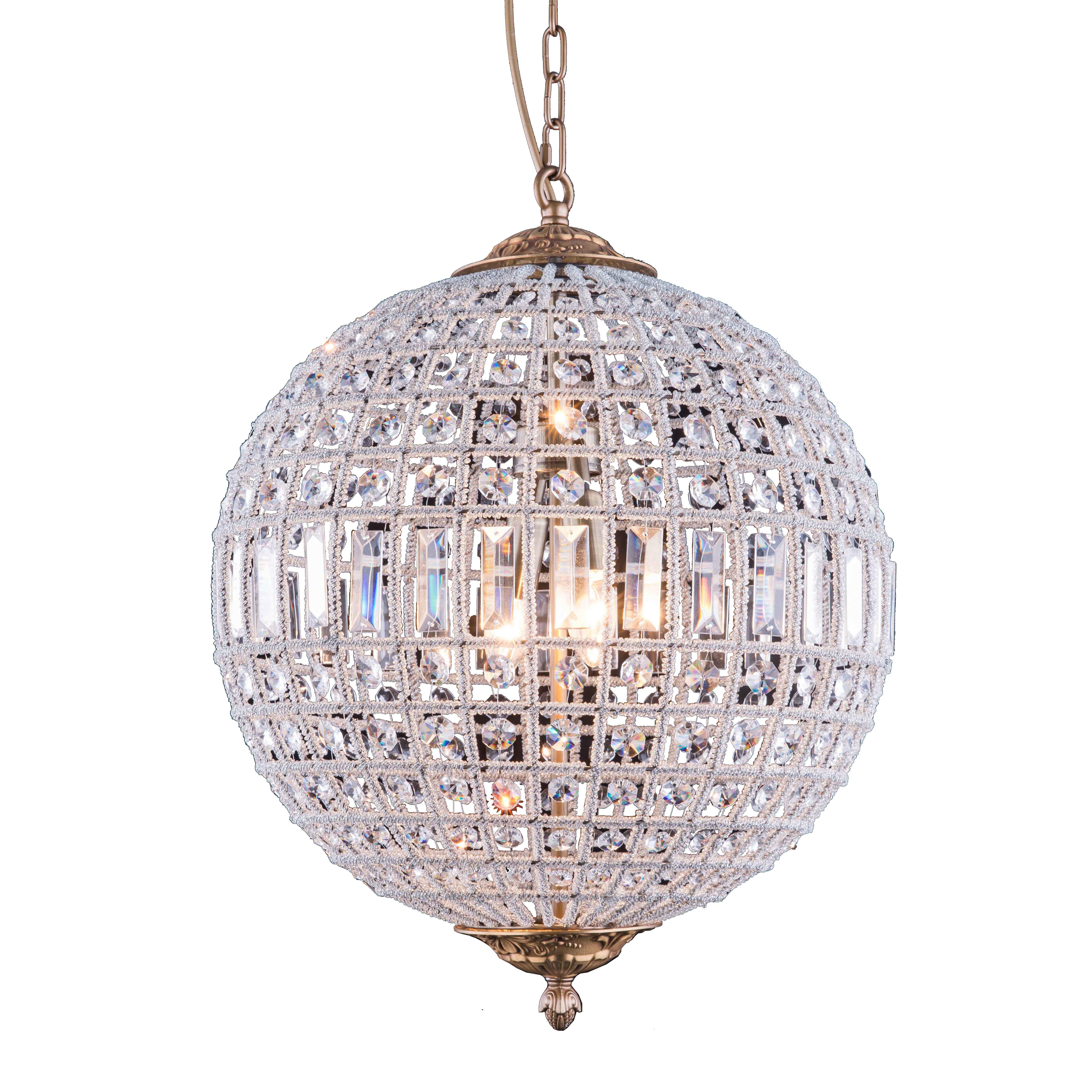 Elegant Lighting Olivia 3 Light Globe Pendant Reviews