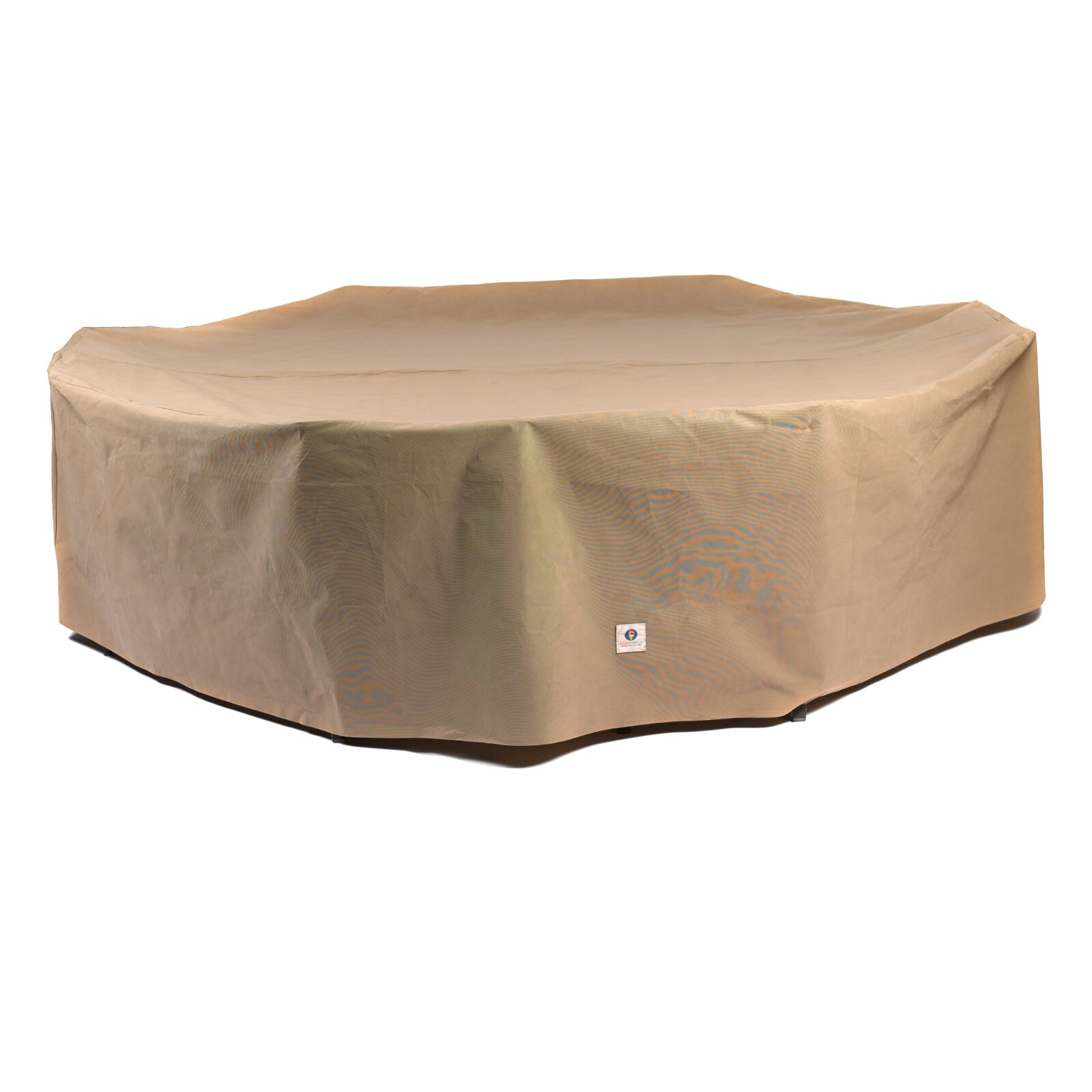 Duck Covers Essential Rectangular Oval Patio Set Cover & Reviews