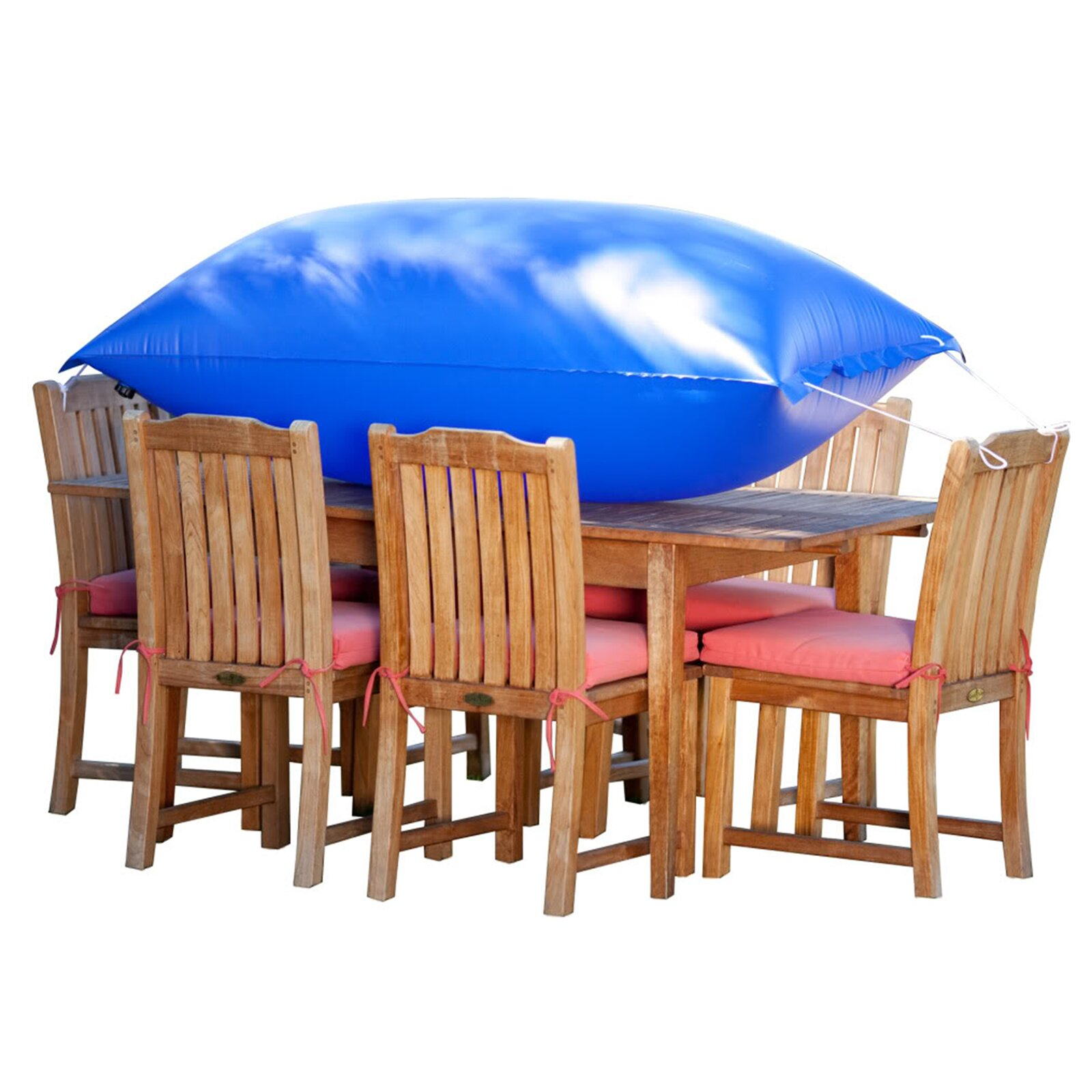 Duck Covers Elite Square Patio Table & Chair Set Cover & Reviews
