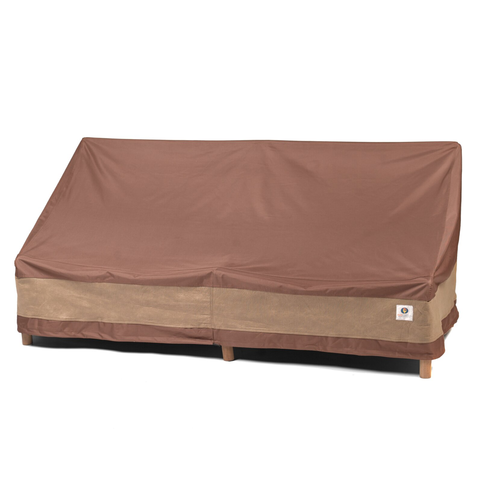 Duck covers ultimate patio sofa cover reviews wayfair for Patio furniture covers