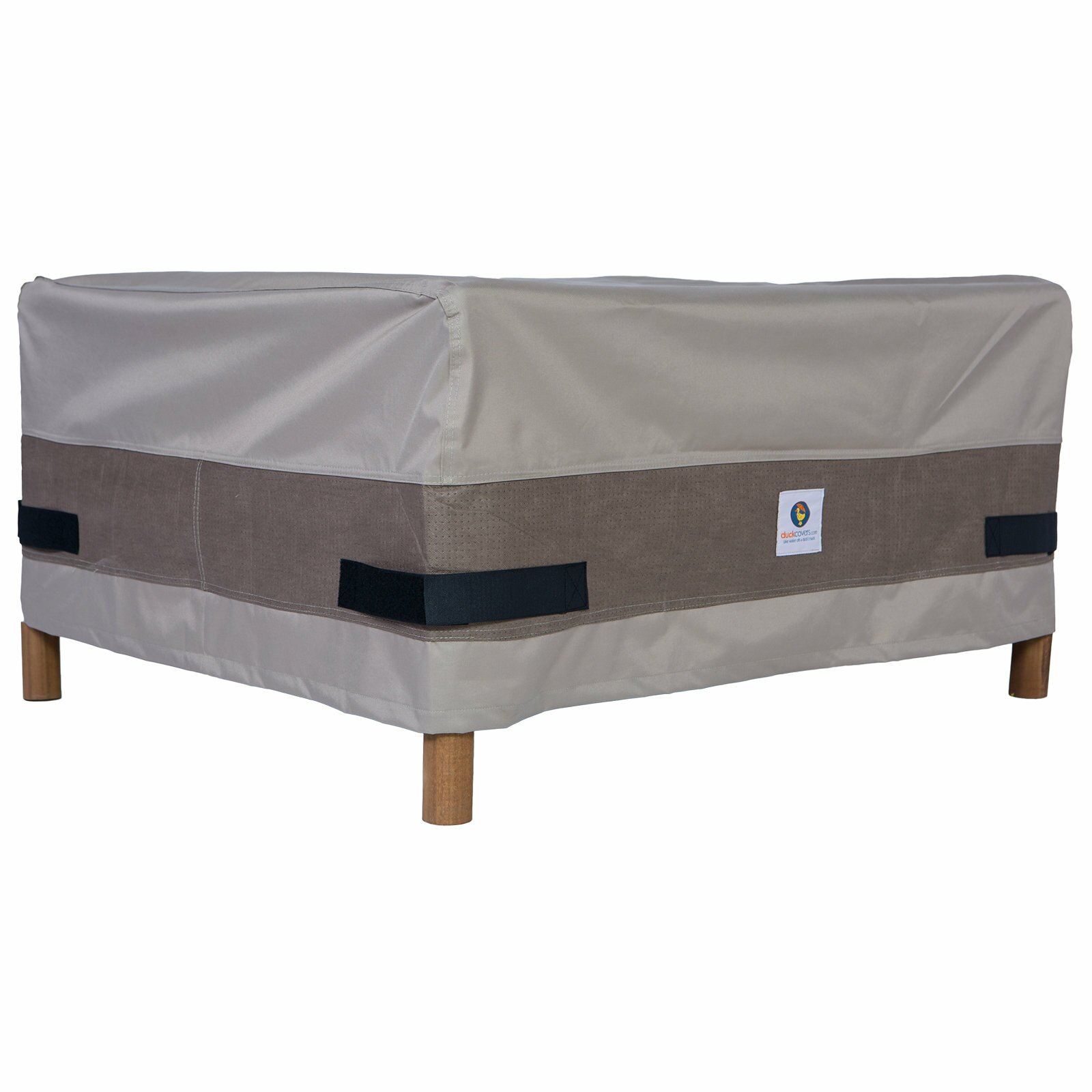Duck Covers Elegant Ottoman Side Table Cover & Reviews