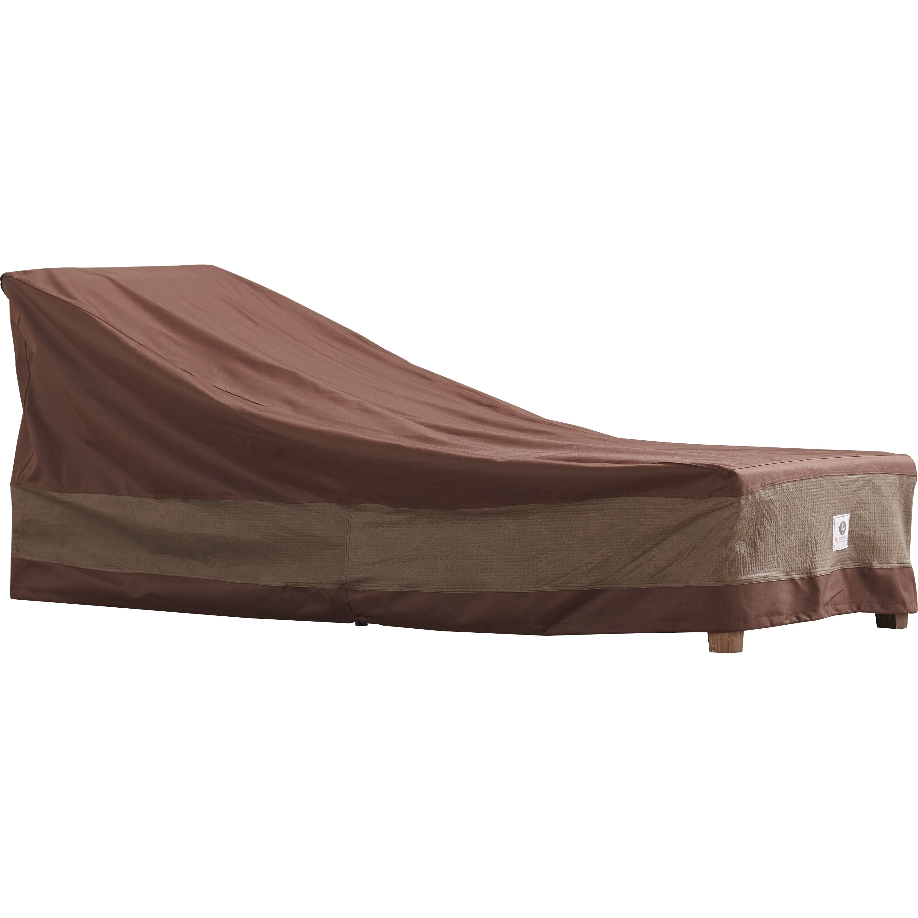 Duck covers ultimate patio chaise lounge cover reviews for Chaise lounge covers outdoor