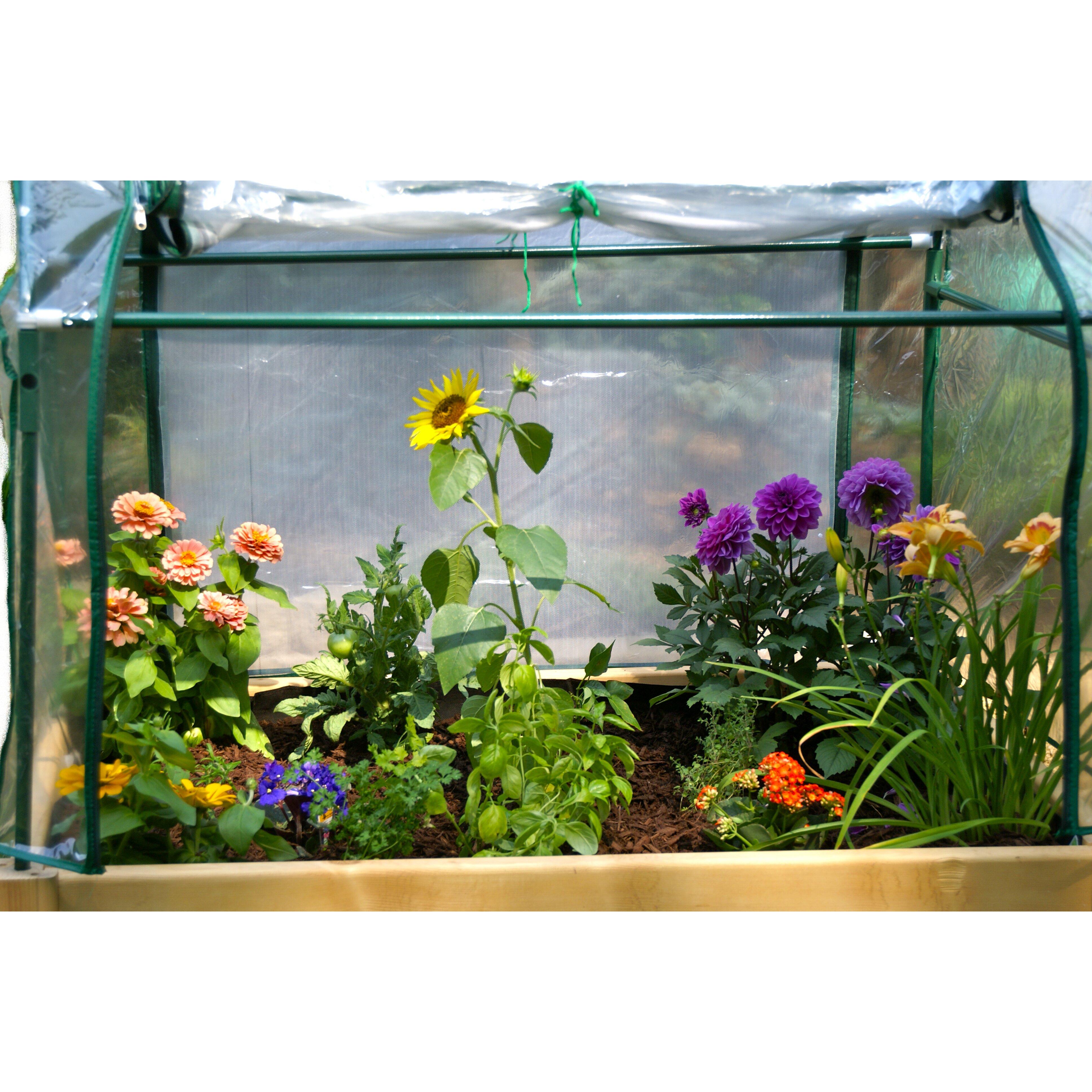 Riverstone industries corporation eden rectangular raised for Garden enclosure