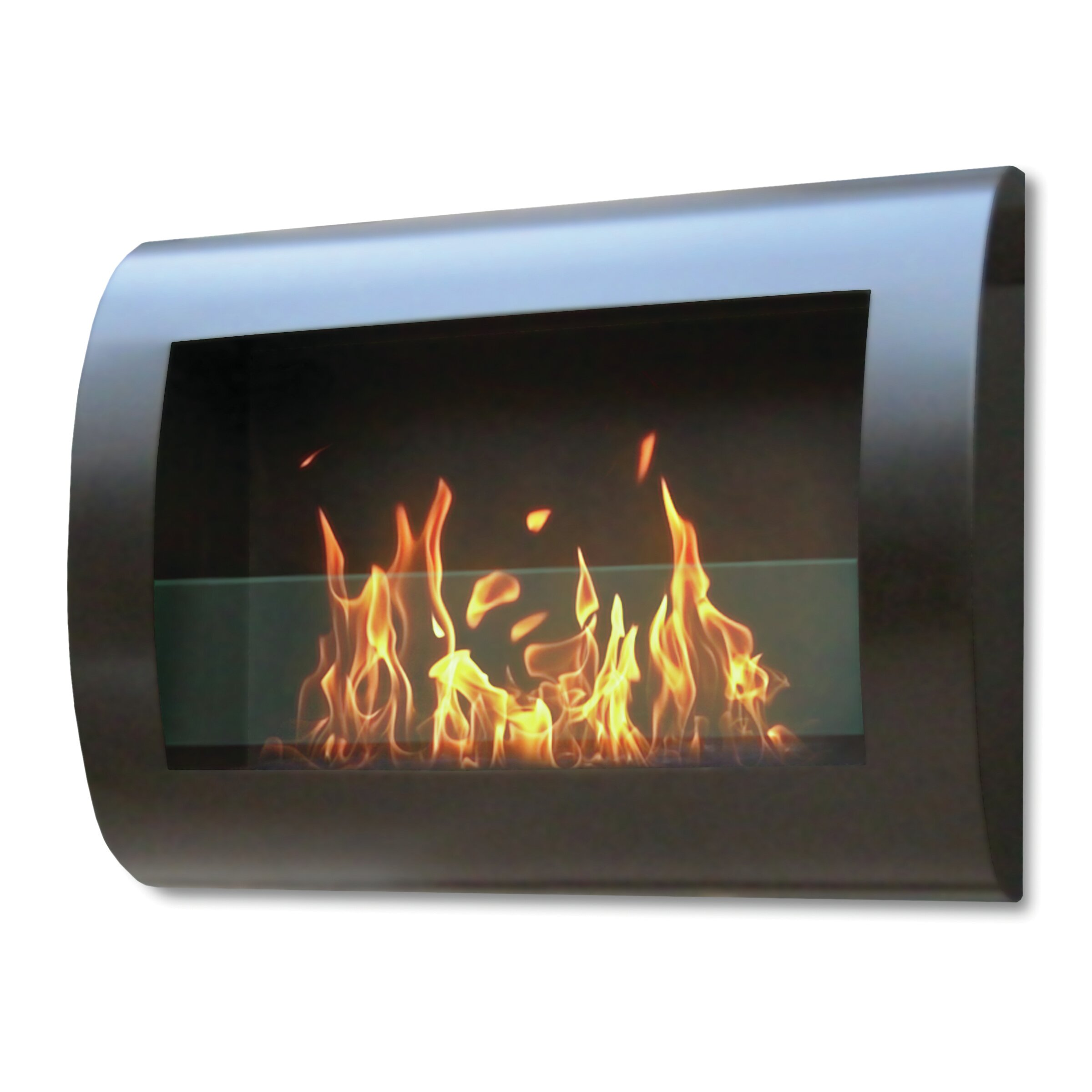 anywhere fireplaces chelsea wall mount bio ethanol