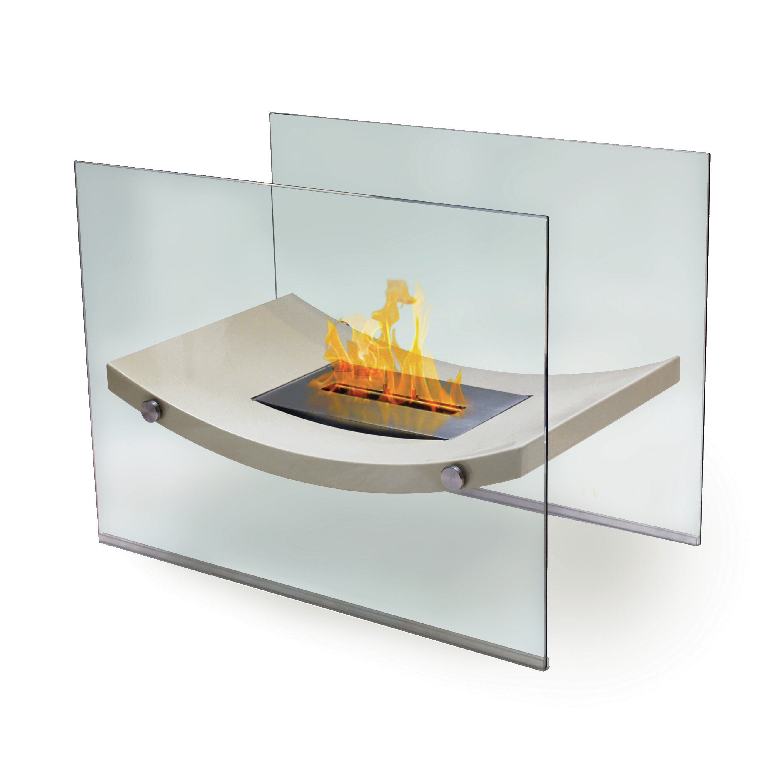 Anywhere fireplaces broadway glass bio ethanol fireplace for Bio ethanol fire pit