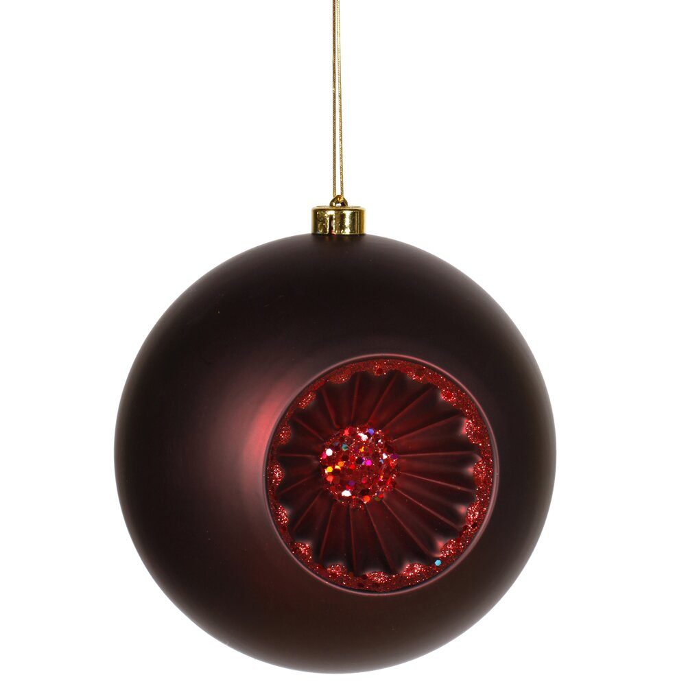 Vickerman Old Fashion Matte Glitt Ball Ornament Reviews