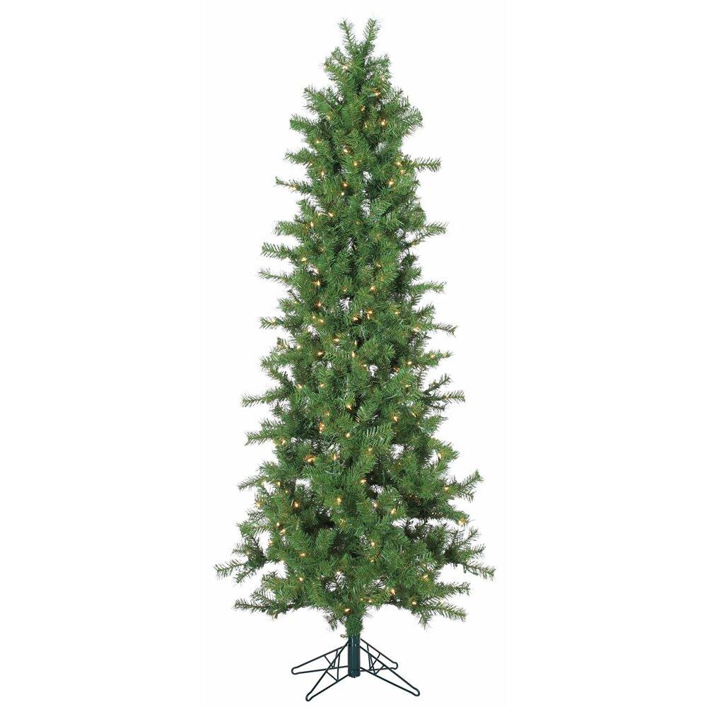 Vickerman 3 5 39 Slim Spruce Artificial Christmas Tree With