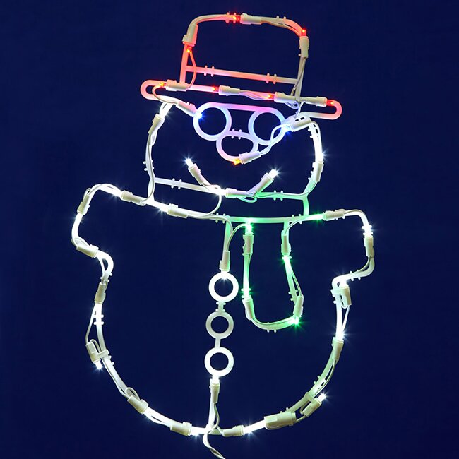 Vickerman lighted smiling snowman christmas window for 30 lighted nativity christmas window silhouette decoration