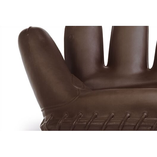 Heller classics revisted joe baseball glove sofa reviews Baseball sofa