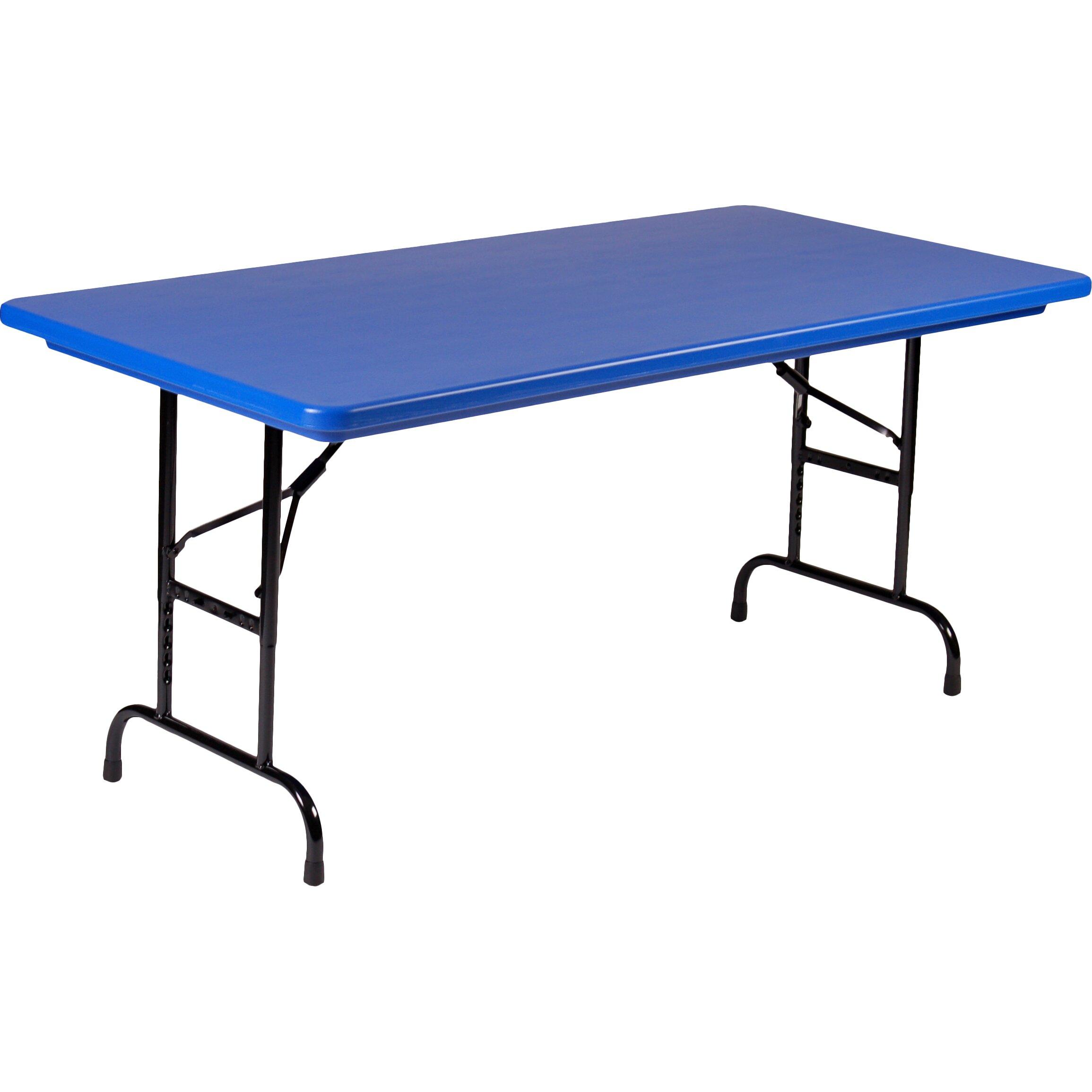 Correll Inc 48 Quot Rectangular Folding Table Wayfair