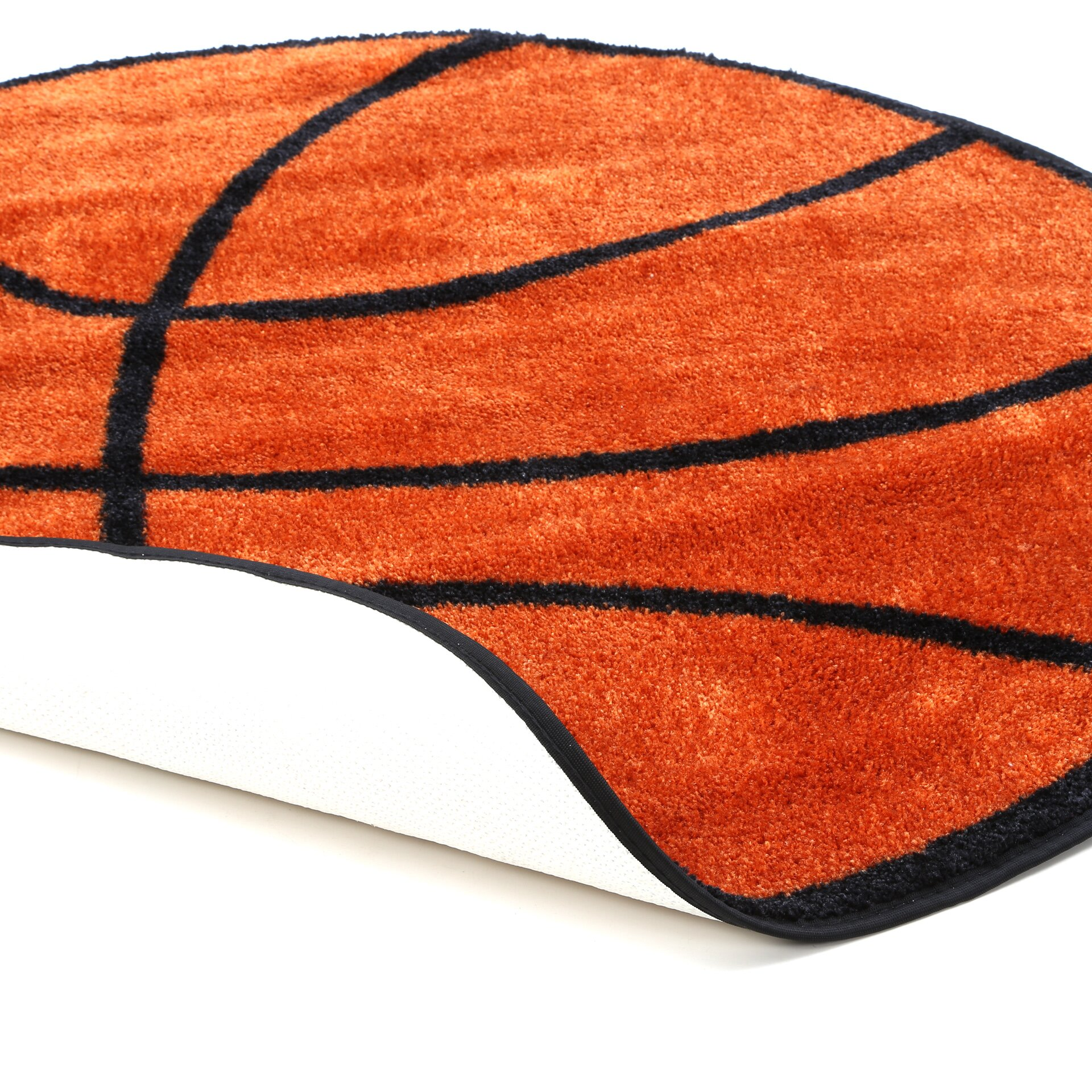 Fun Rugs Fun Shape Basketball Area Rug Amp Reviews Wayfair